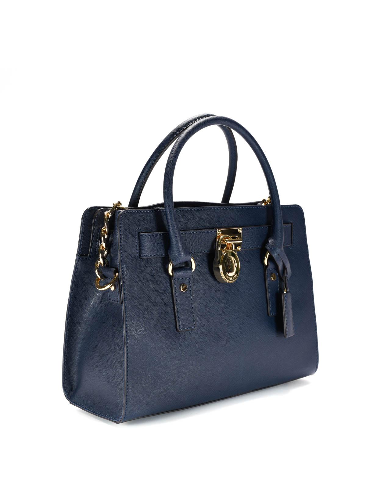 c1e08d1e3bd4 Michael Kors - Hamilton leather satchel - totes bags - 30S2GHMS3L