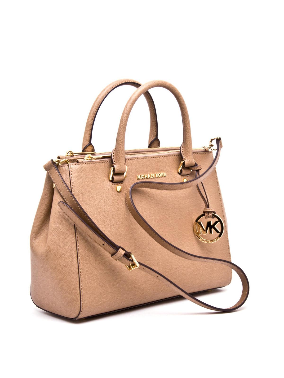 Michael Kors Sutton Handtasche Aus Leder Handtaschen