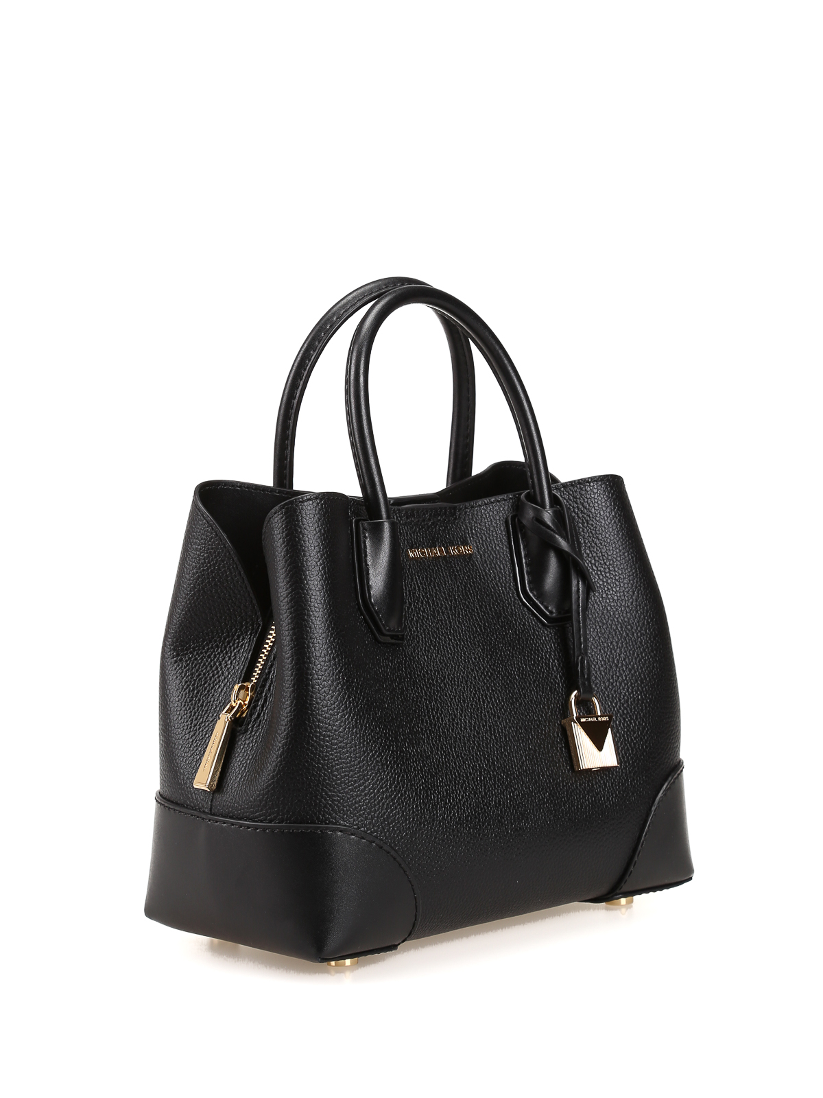 michael kors mercer gallery black small tote totes. Black Bedroom Furniture Sets. Home Design Ideas