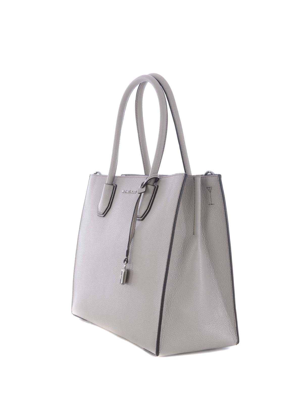 a33c9eac5934f8 MICHAEL KORS: totes bags online - Mercer large cement leather tote