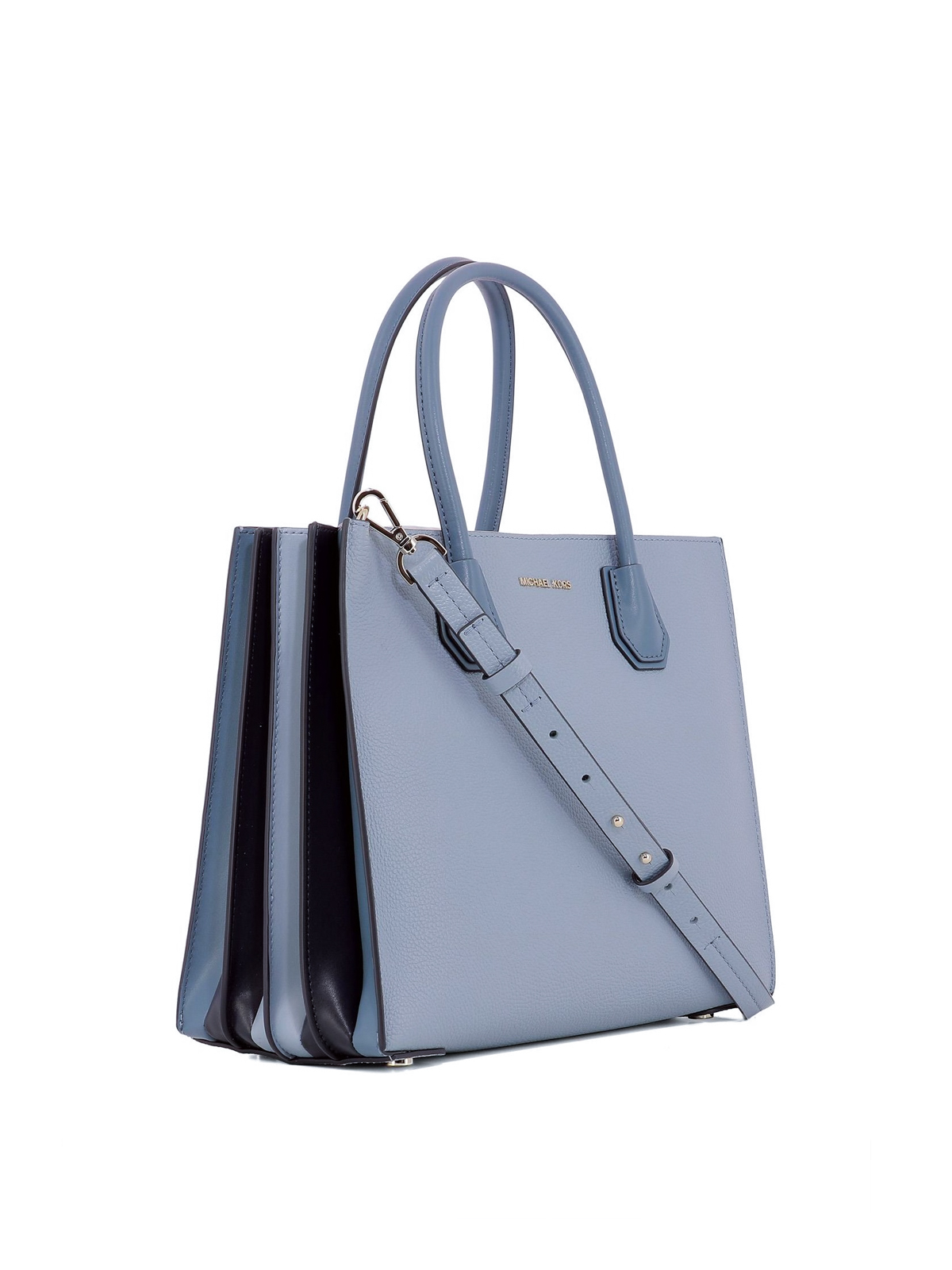 Michael Kors Totes Bags Online Mercer Large Light Blue Accordion Tote