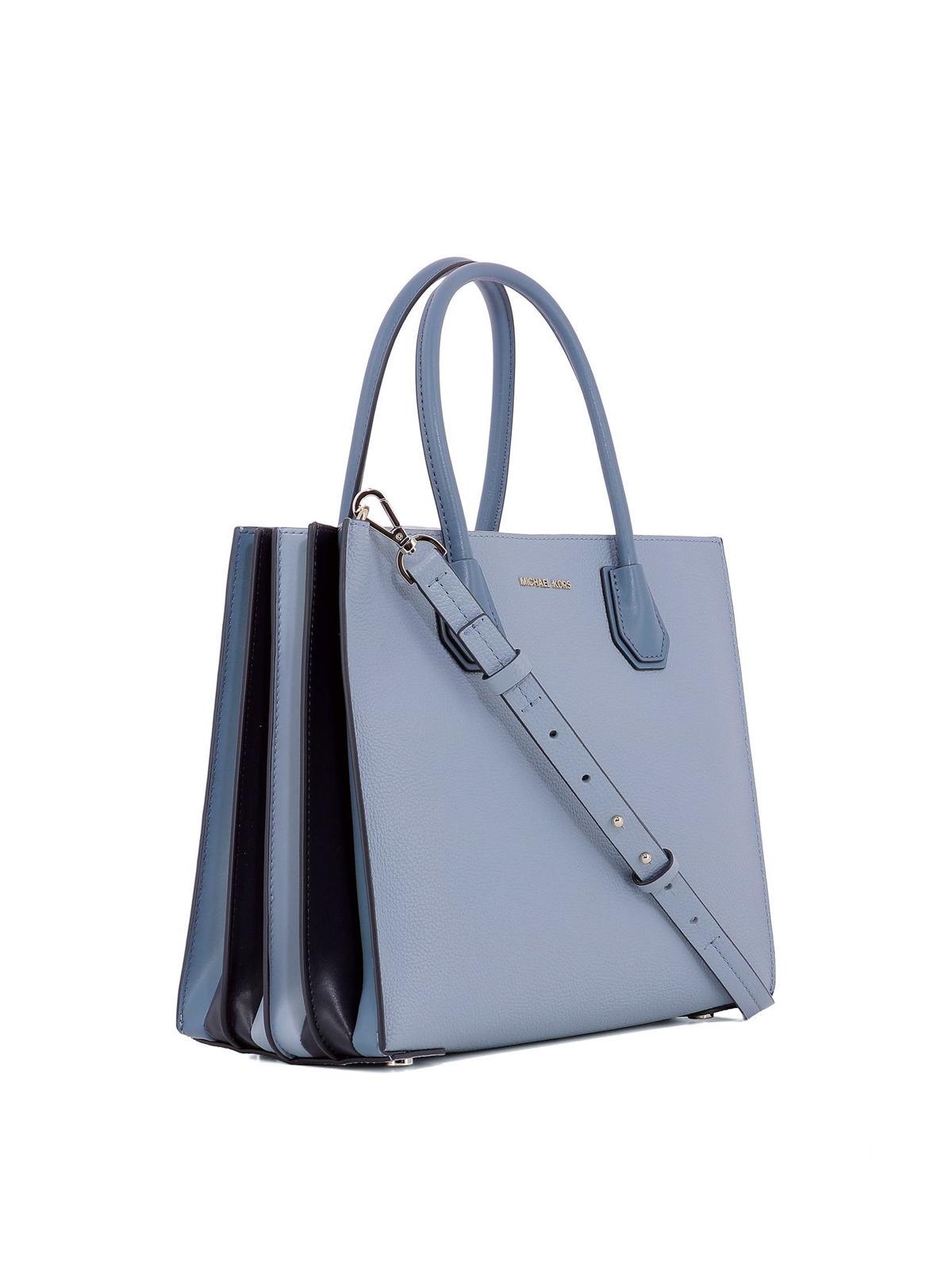 8555957d3c80a MICHAEL KORS  totes bags online - Mercer large light blue accordion tote