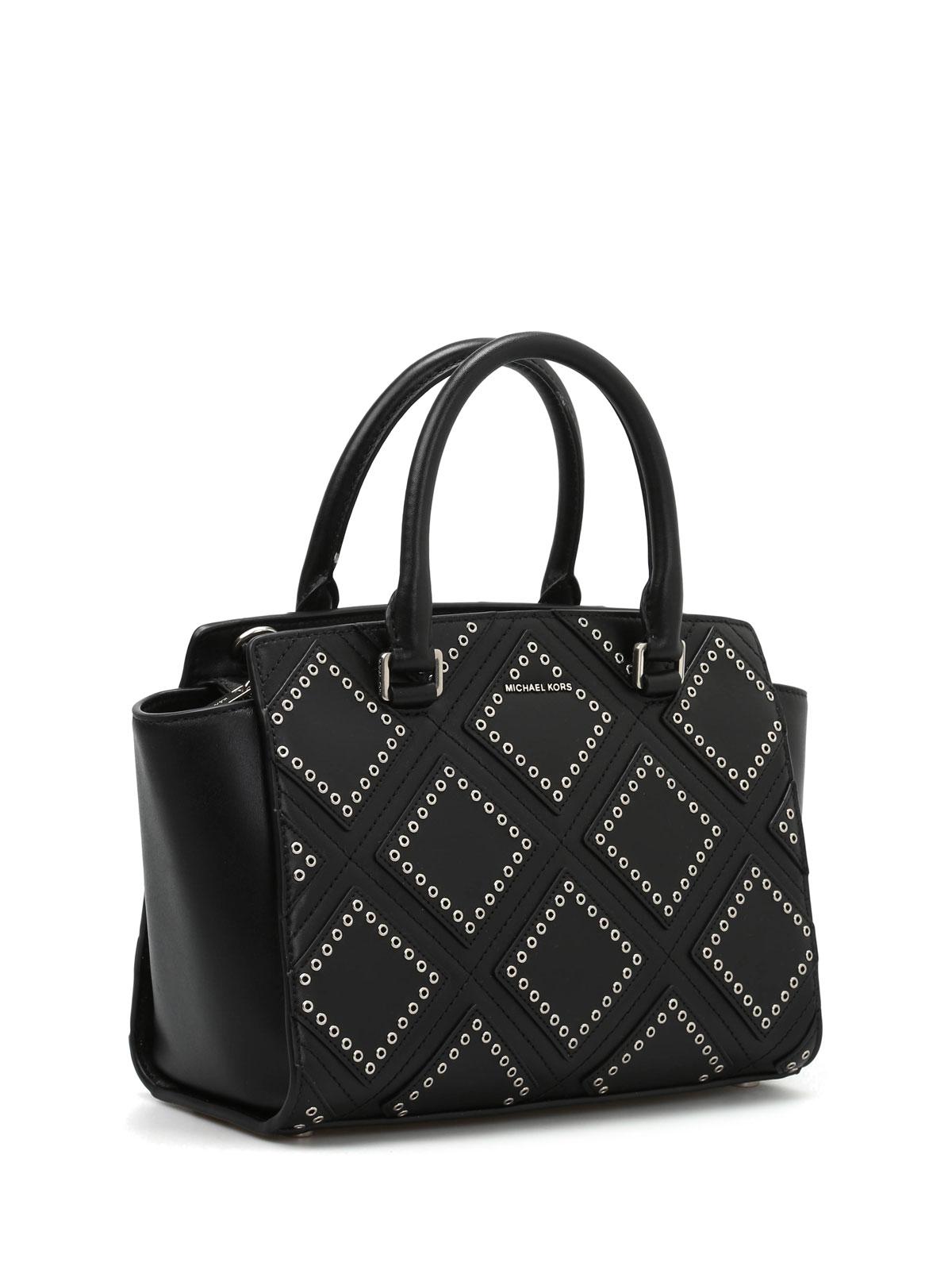 eb3527e136145b Michael Kors - Selma Diamond Grommet tote - totes bags - 30F6ADXS2L 001