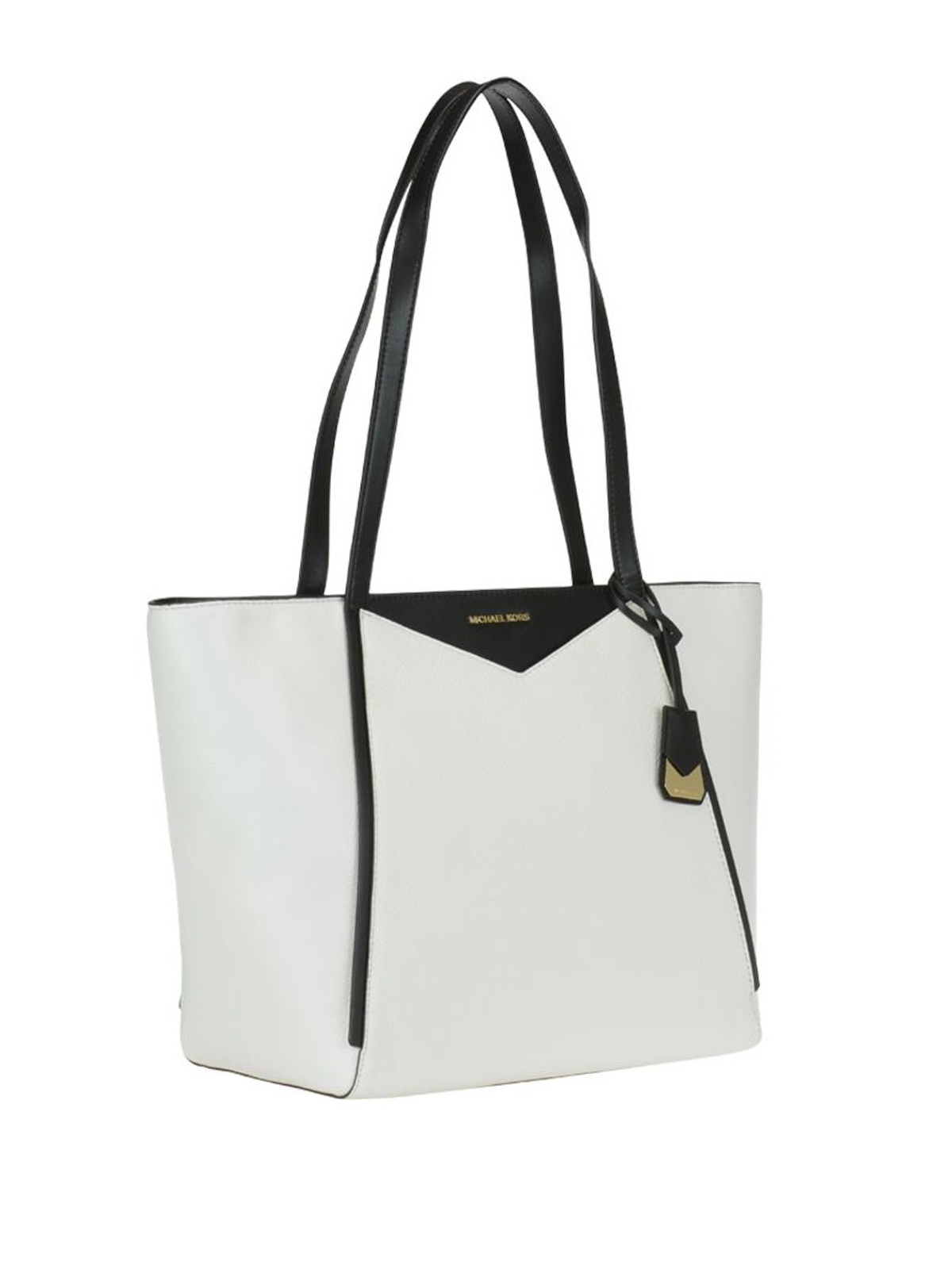 2768ec4a0e46 MICHAEL KORS: totes bags online - Whitney bicolour leather large tote
