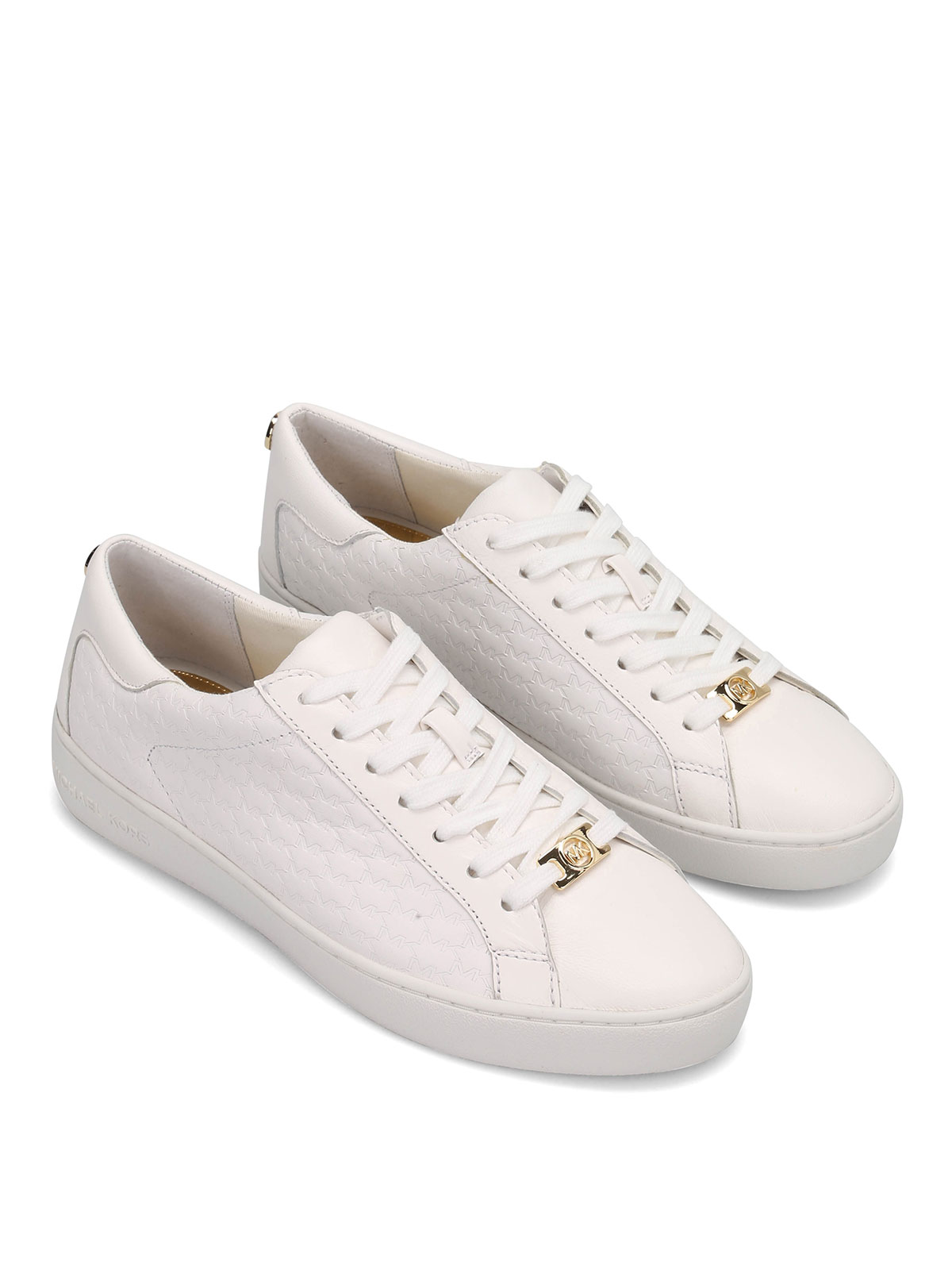 klippbok Medvetslös Snarare  Michael Kors - Colby leather sneakers - trainers - 43R5COFP2L085