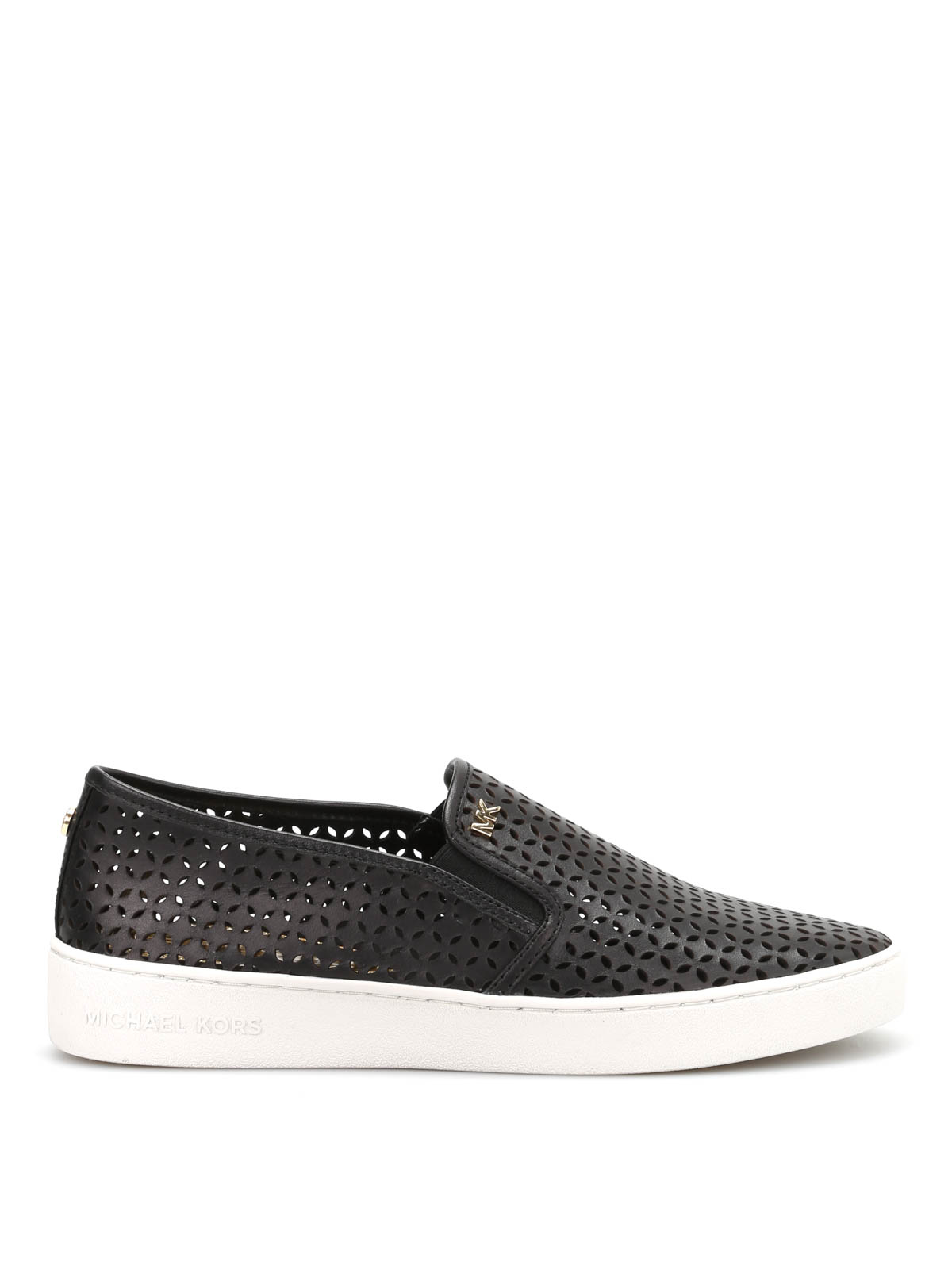Michael Kors - Slip-on Olivia - sneakers - 43S5OLFP1L BLACK  d08f4e4af88