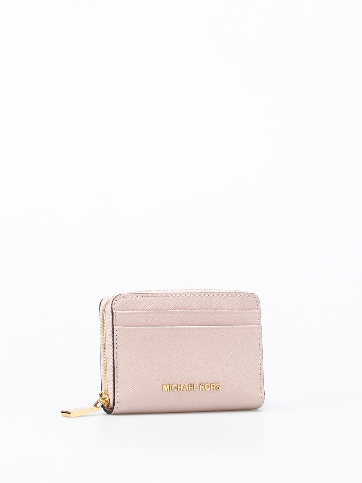 8743156995827f MICHAEL KORS: wallets & purses online - Money Pieces zip around card case