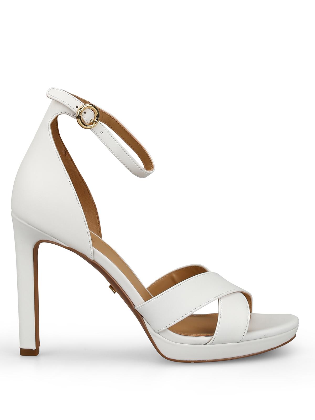 6597aaaf3d5a Michael Kors - Alexia white sandals - sandals - 40S9AXHA1L 085 ...