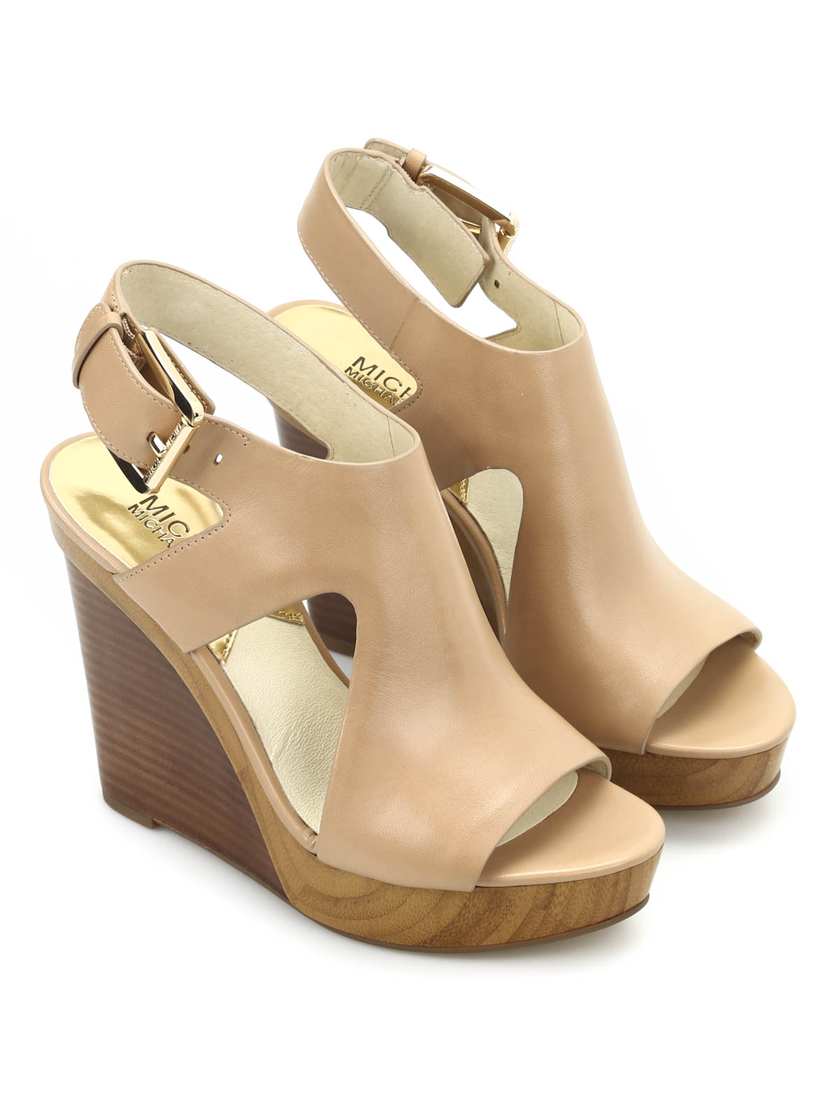 josephine leather wedges by michael kors sandals ikrix