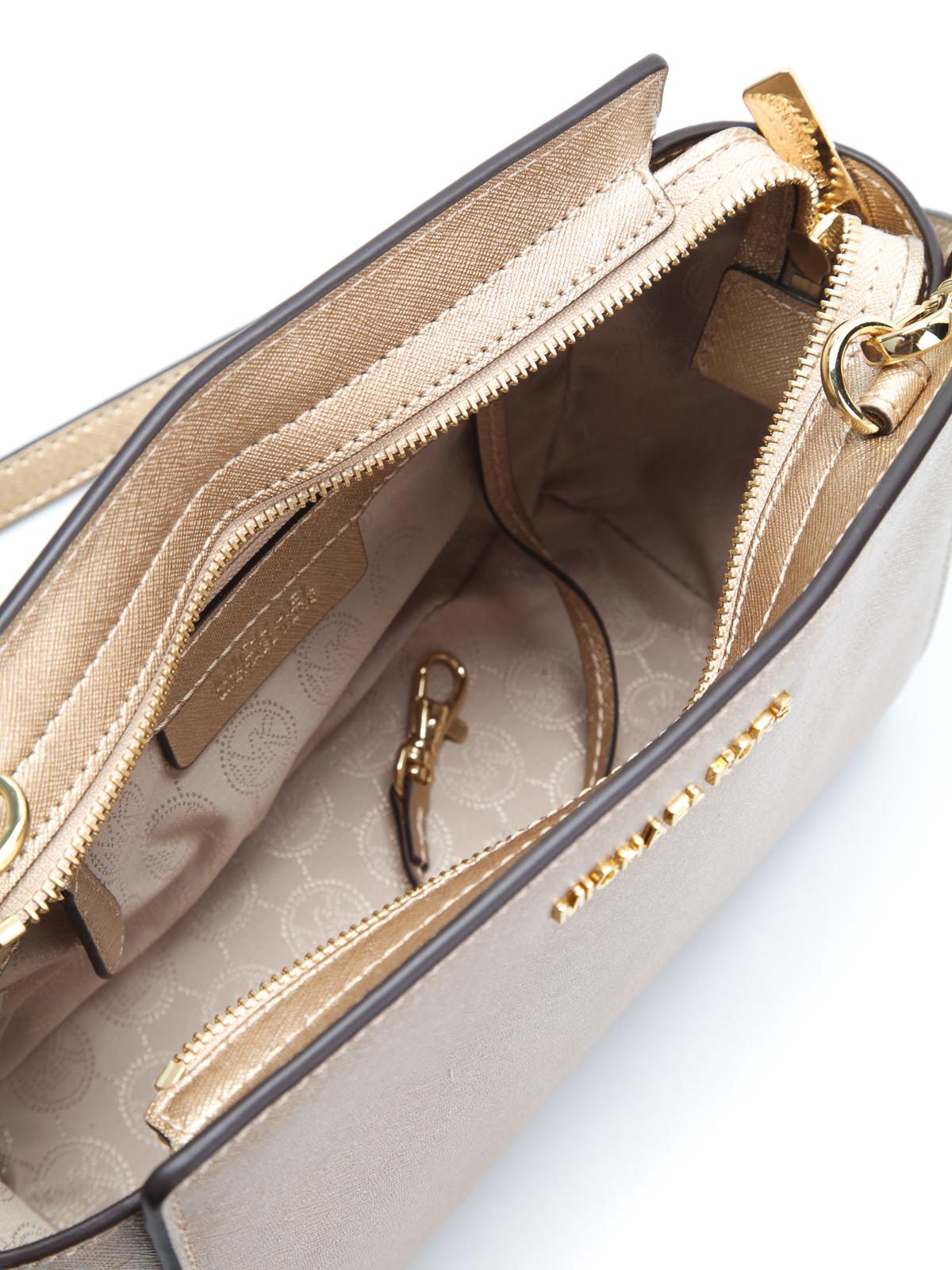 Michael Kors - Selma medium leather messenger - shoulder bags ... 060a24c572f