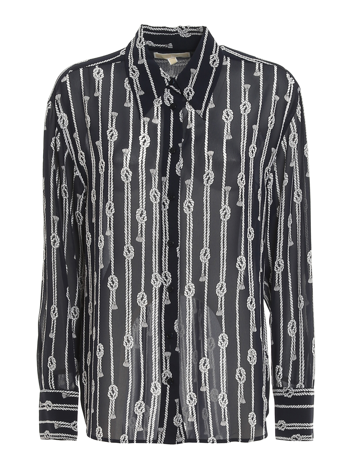 Michael Kors SPACED SAILOR CREPE SHIRT