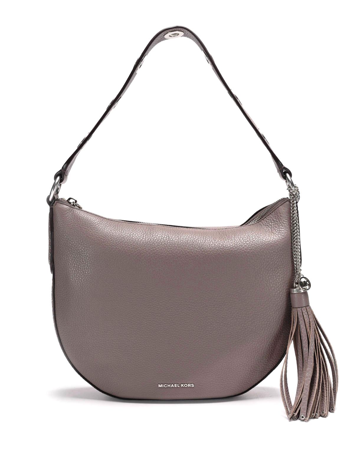 brooklyn leather hobo medium bag by michael kors shoulder bags ikrix. Black Bedroom Furniture Sets. Home Design Ideas