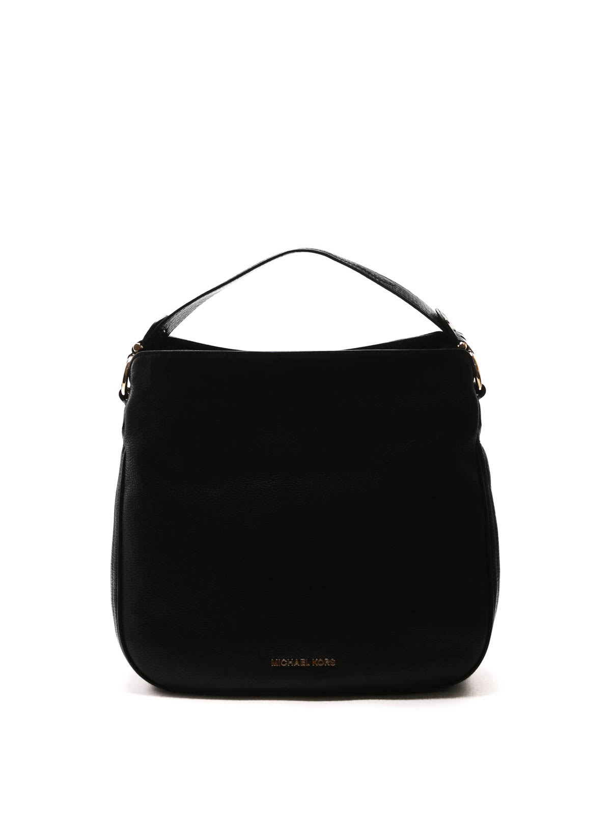 b181b552f7 Michael Kors - Heidi medium hobo leather bag - shoulder bags ...