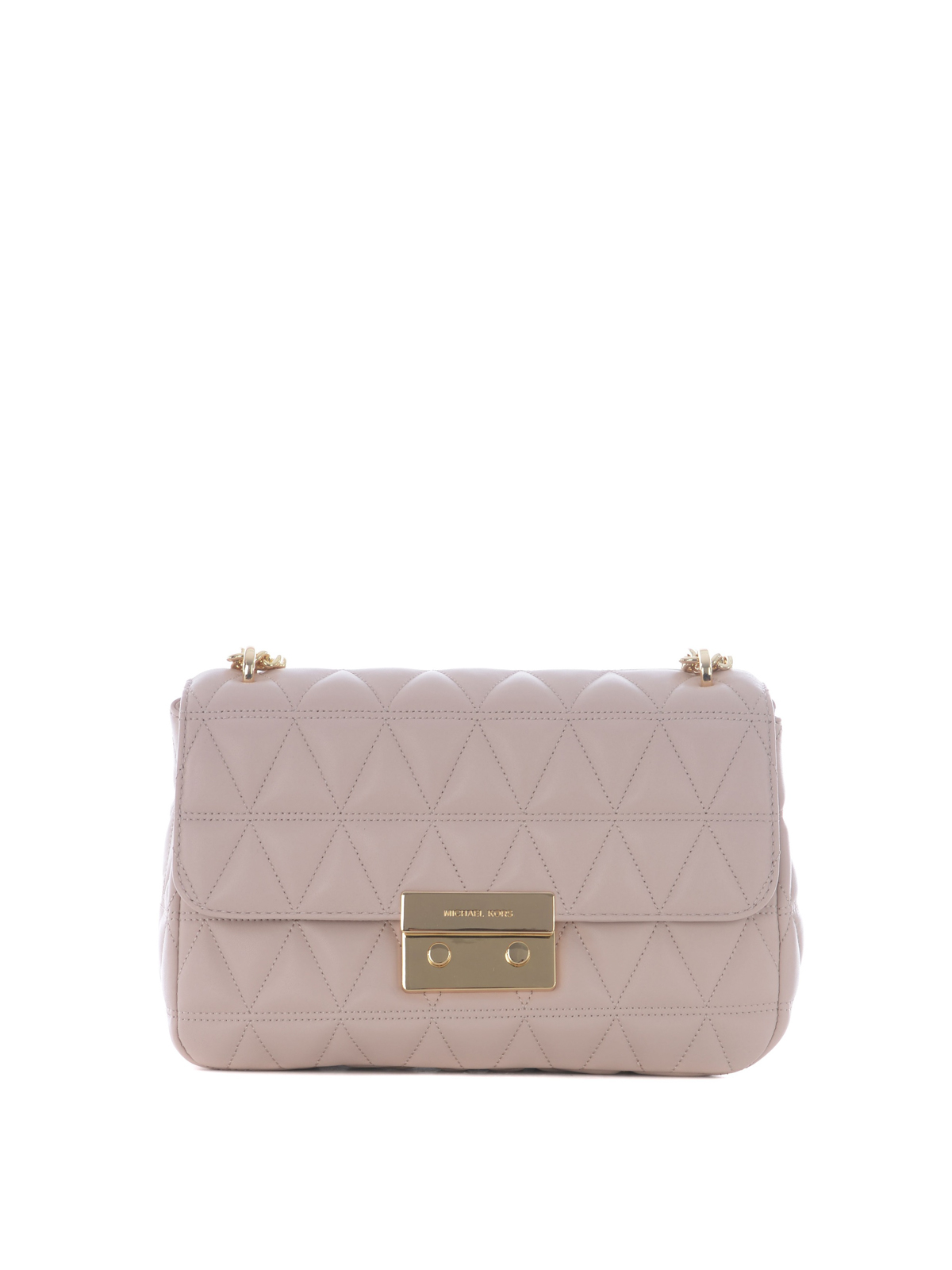 be10093314e Michael Kors - Sloan large pink shoulder bag - shoulder bags ...