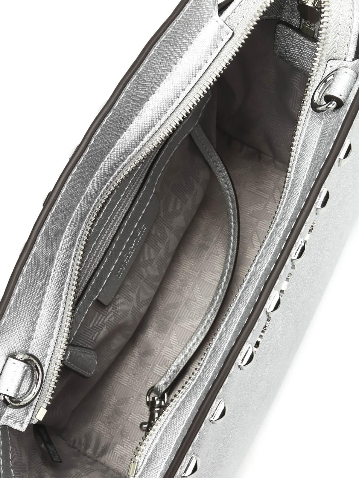 8a5c3aa0947c Michael Kors - Studded Selma cross body bag - cross body bags ...