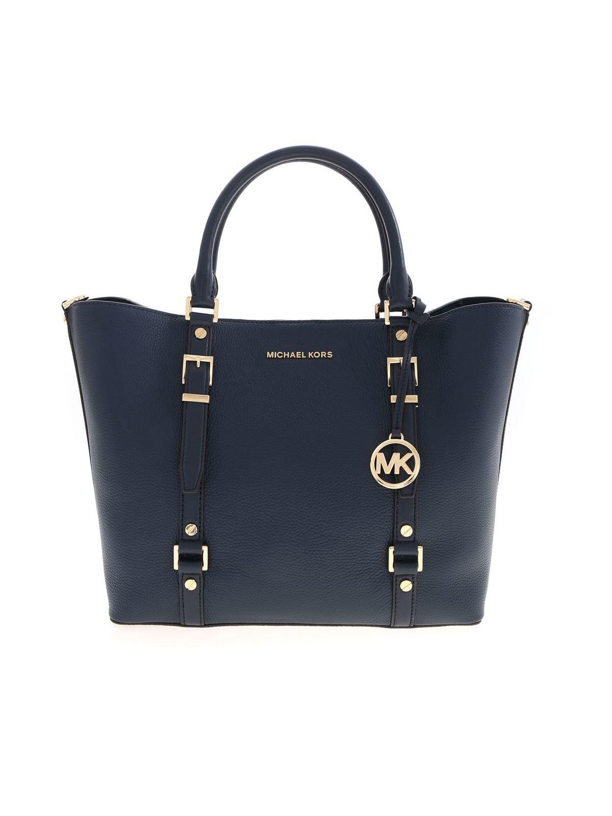 Michael Kors Shopper Blau Handtaschen 30F9G06T3LNAVY