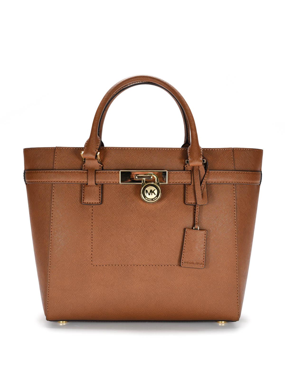2f9cdf822c067 Michael Kors Saffiano Leather Tote Bag