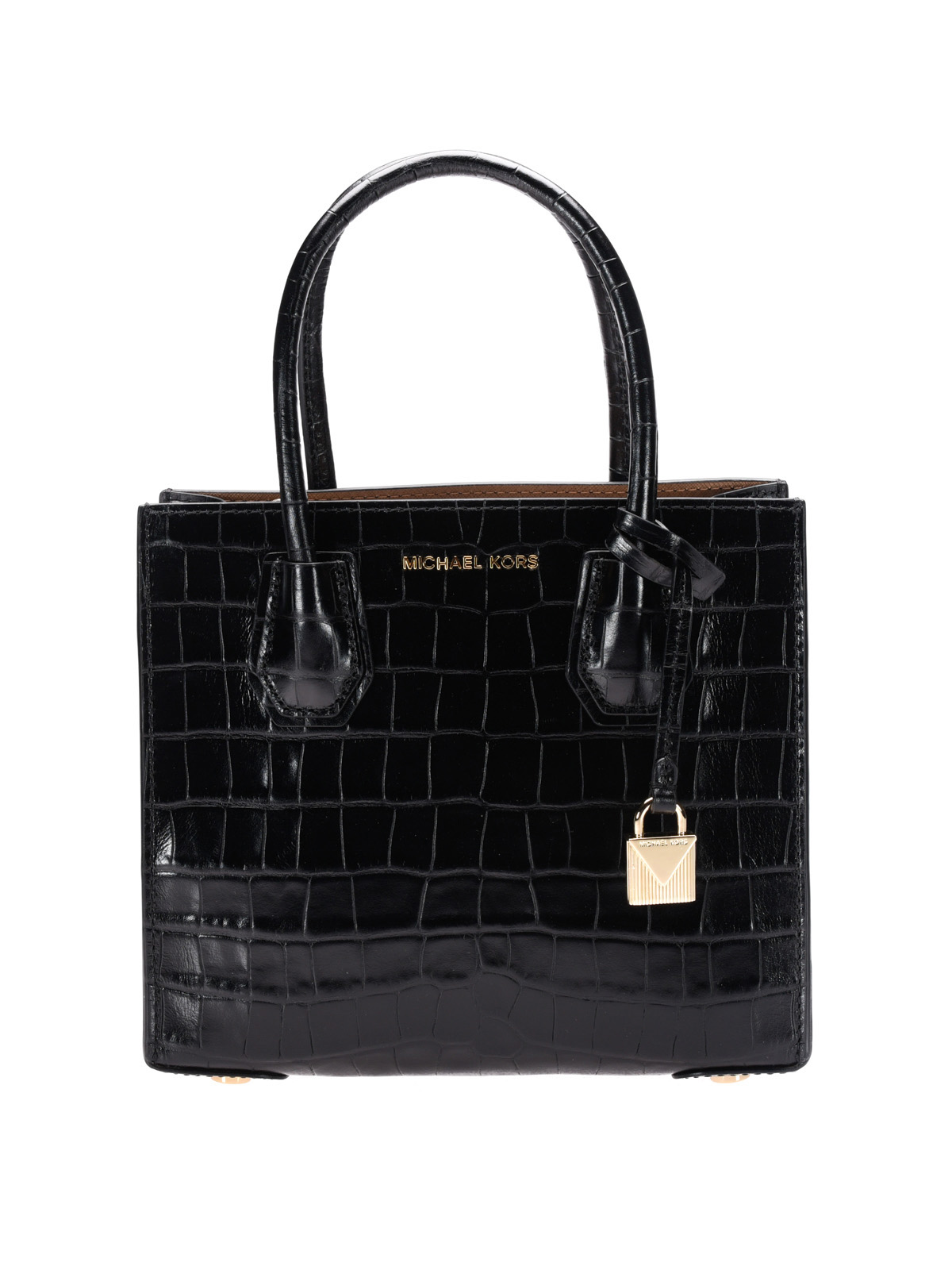 Michael Kors - Mercer croco print leather bag - totes bags ...