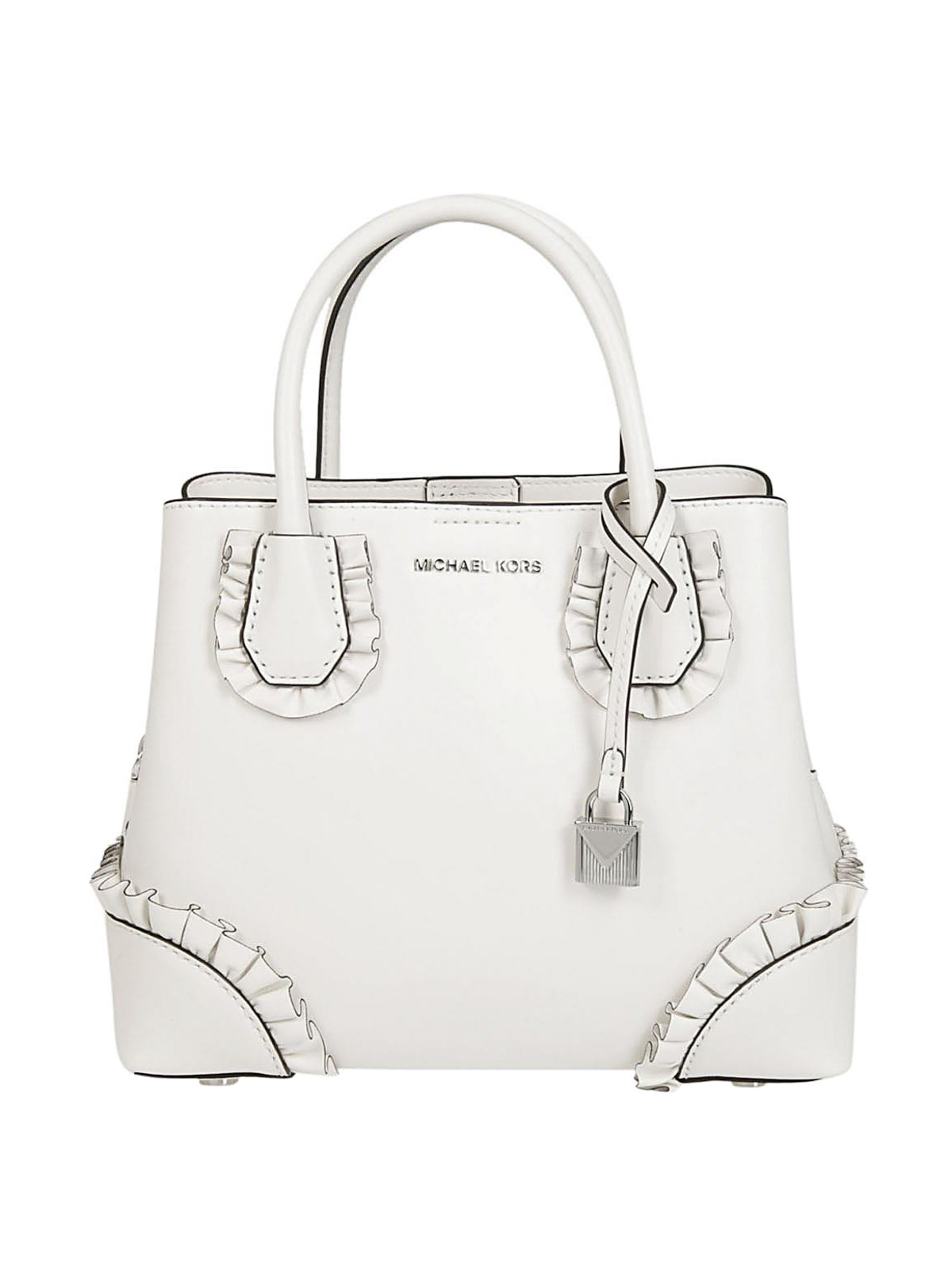 michael kors mercer gallery small white bag totes bags 30s8gz5t5y 085. Black Bedroom Furniture Sets. Home Design Ideas