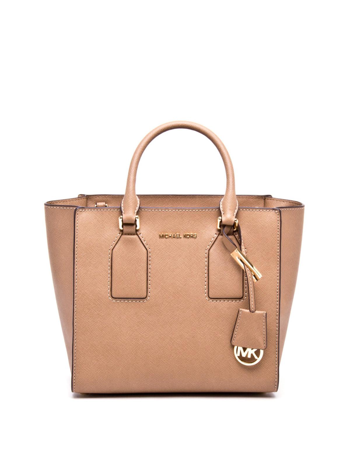 2478af5e4bcd Michael Kors Saffiano Leather Tote Bag | Stanford Center for ...