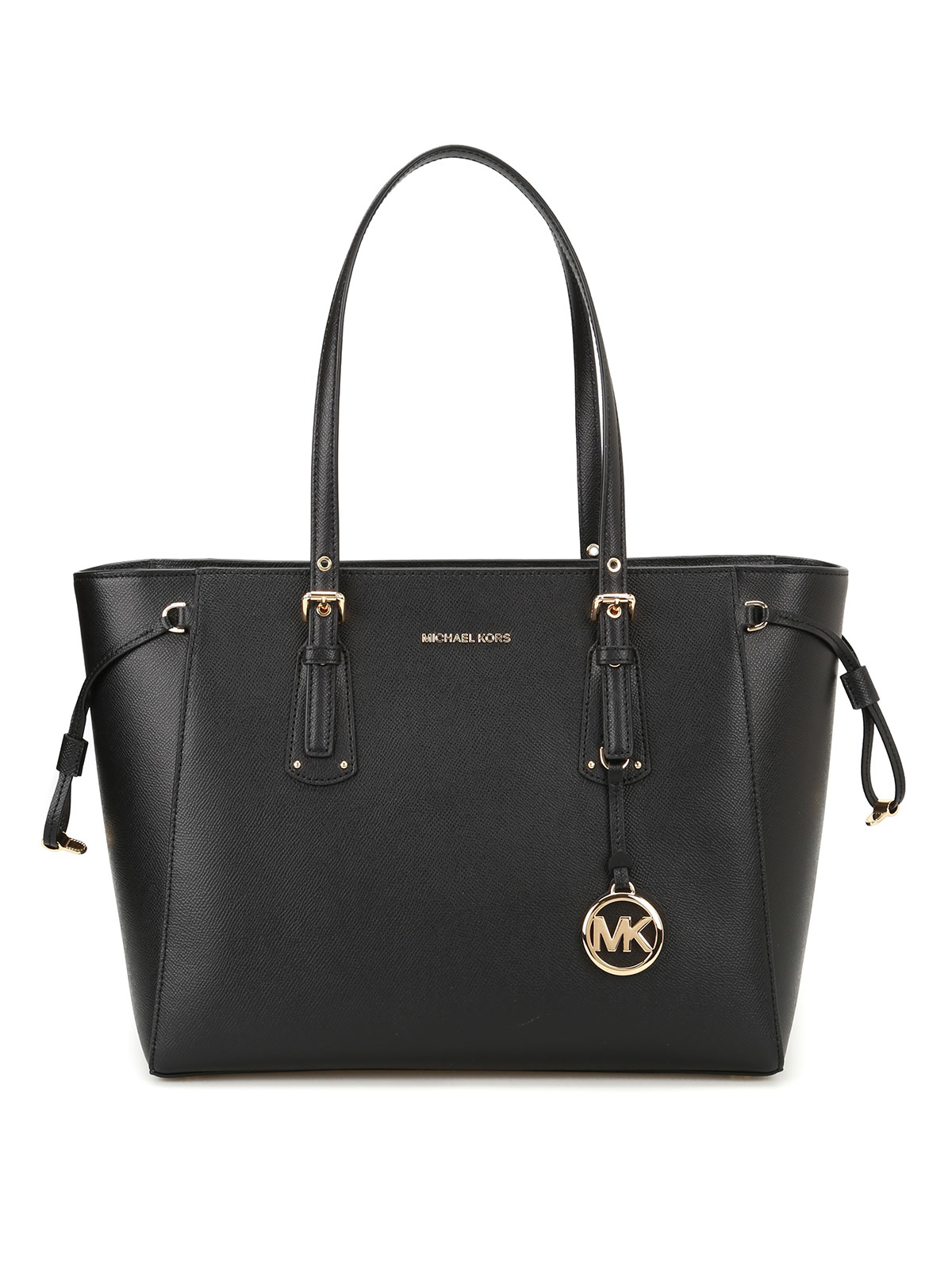 voyager leather medium shopper by michael kors totes. Black Bedroom Furniture Sets. Home Design Ideas