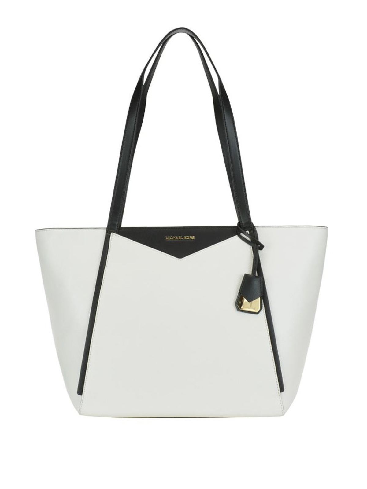 2828d1ae4a8d Michael Kors - Whitney bicolour leather large tote - totes bags ...