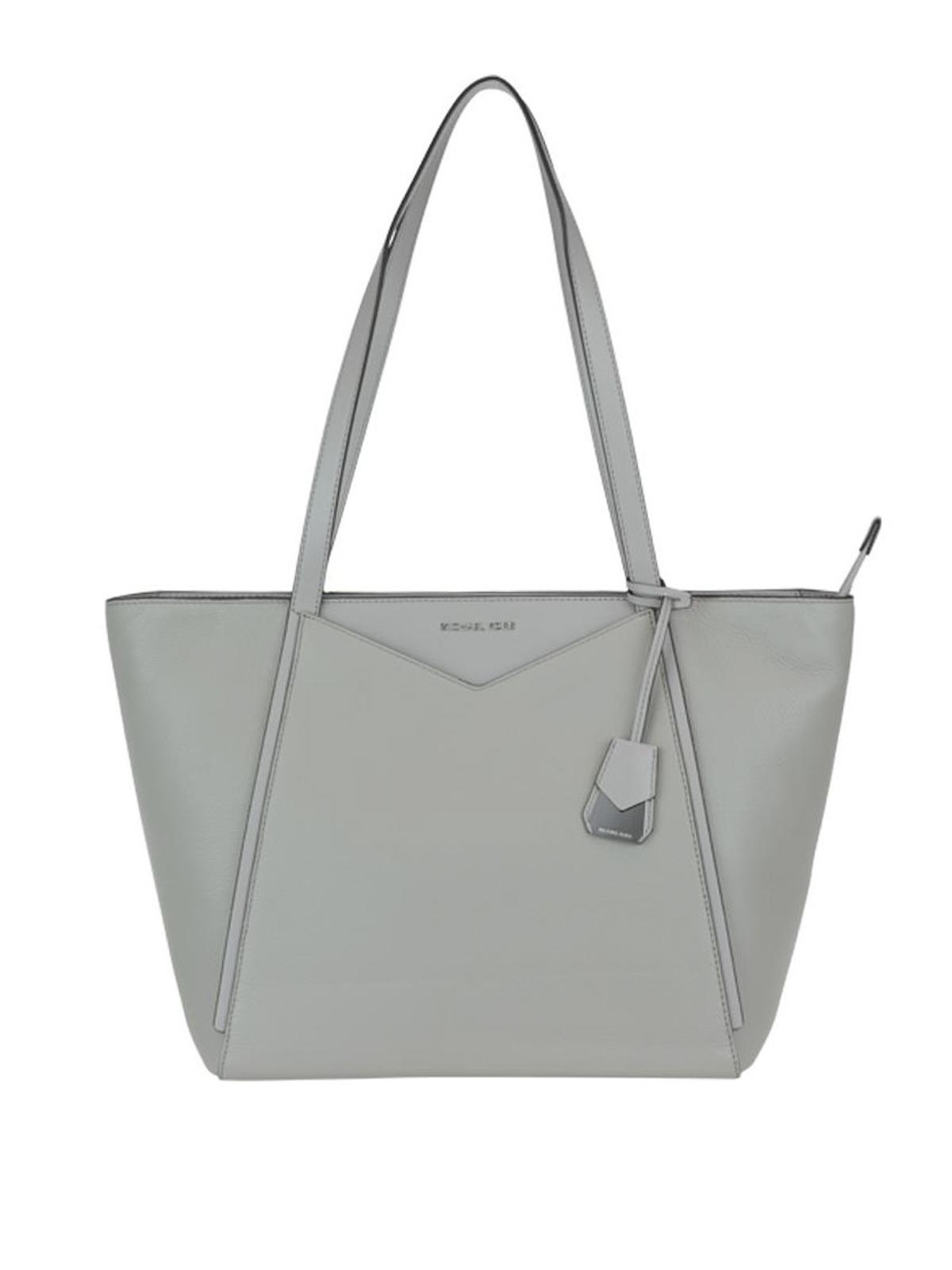 814136e4e6f1 Michael Kors - Whitney pearl grey large tote - totes bags ...