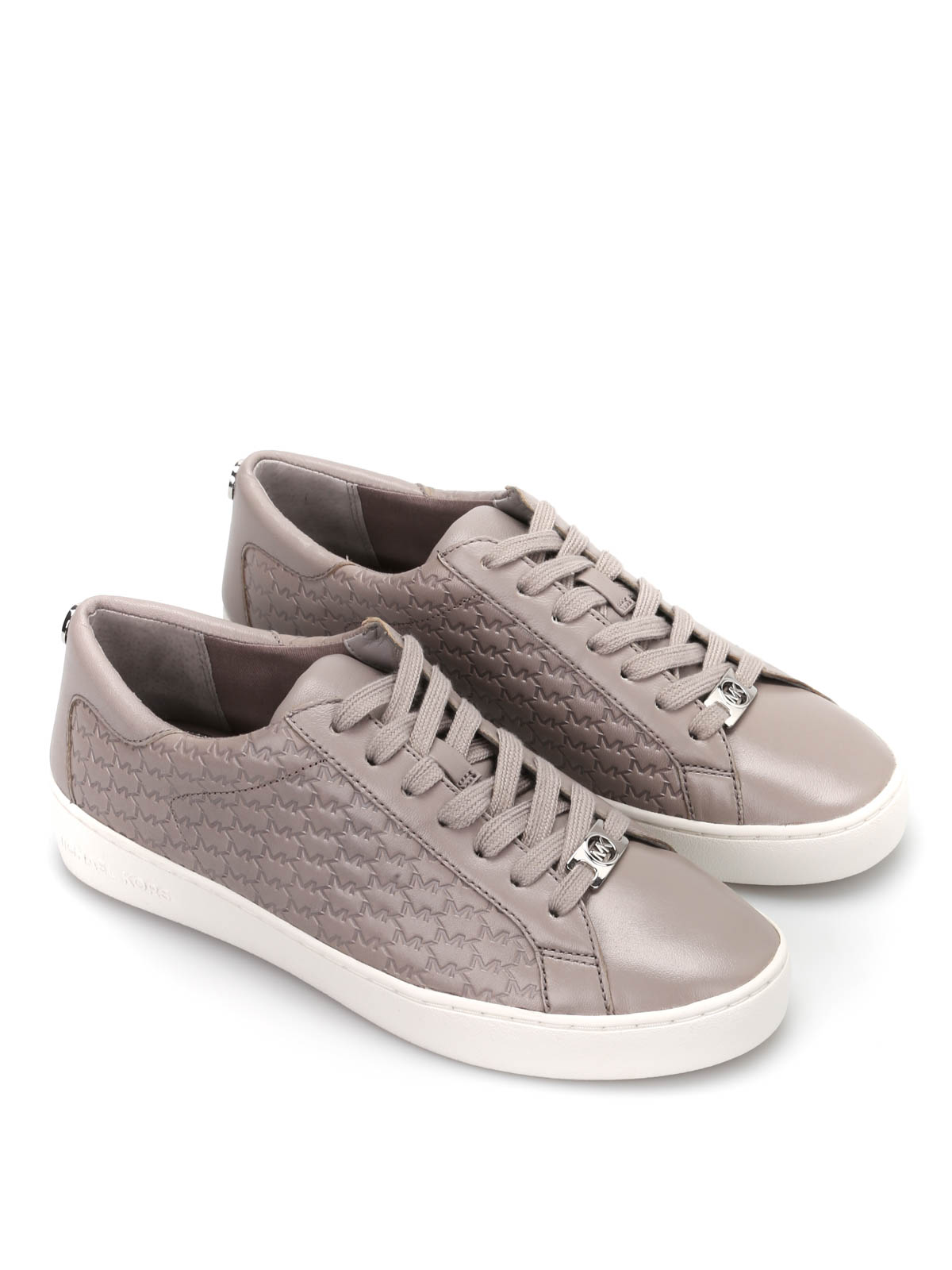 0fc21574ea0fe Michael Kors - Colby leather sneakers - trainers - 43R5COFP2L081