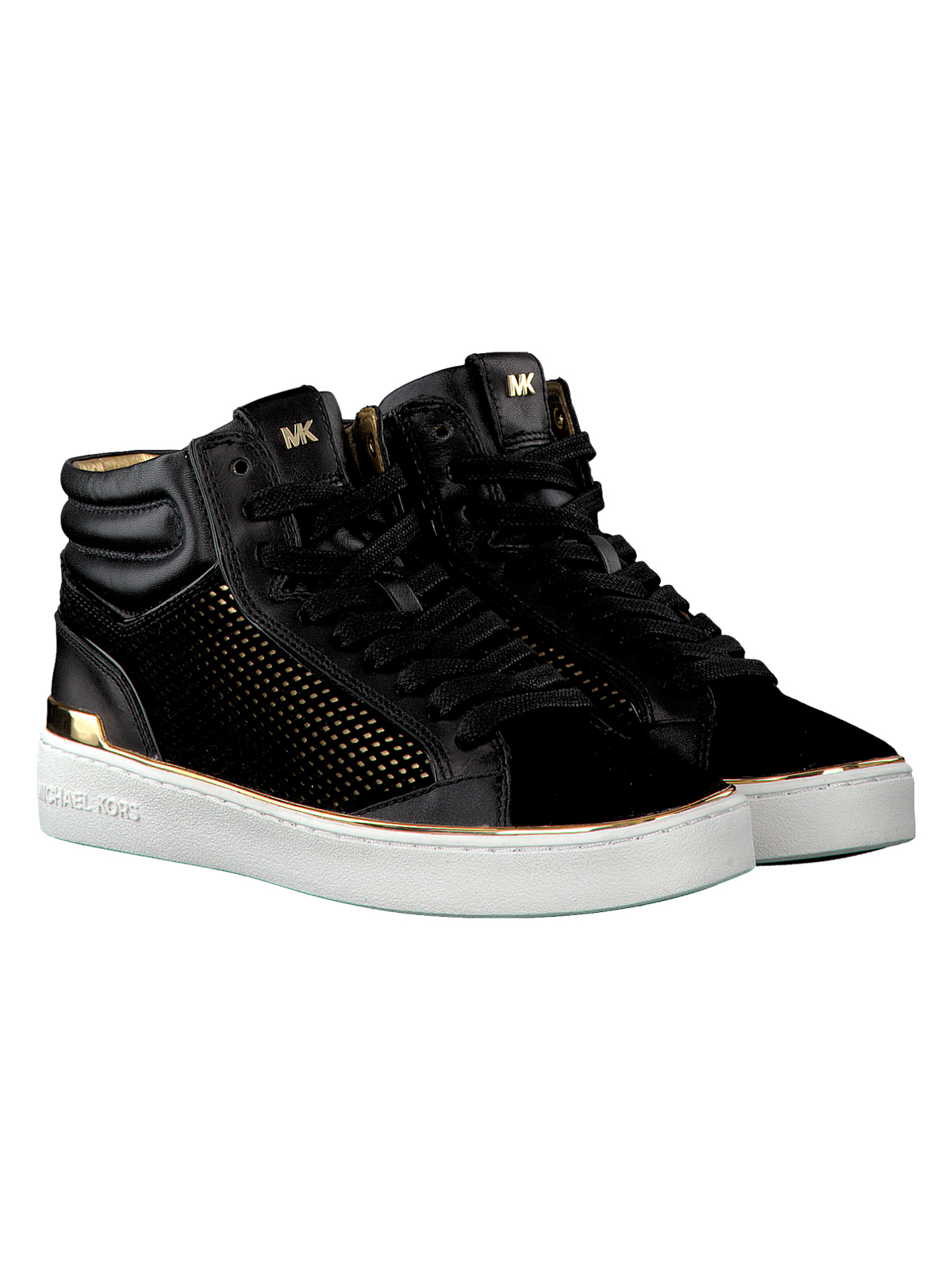 60c499d162242 Buy michael kors black high tops   OFF53% Discounted
