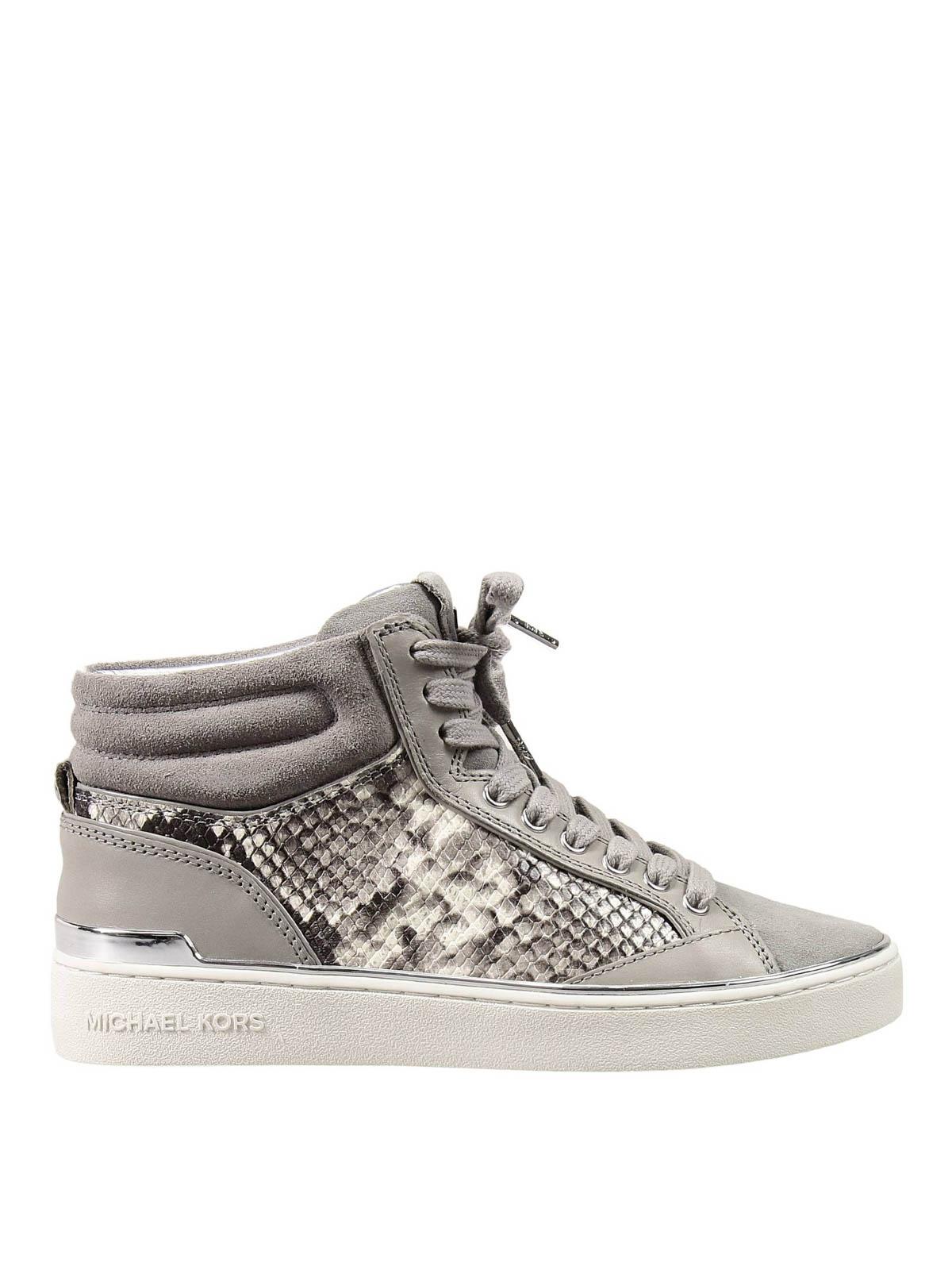 b0b093b2cb9 Michael Kors - Snake print sneakers - trainers - 43T5KYFE5E | iKRIX.com