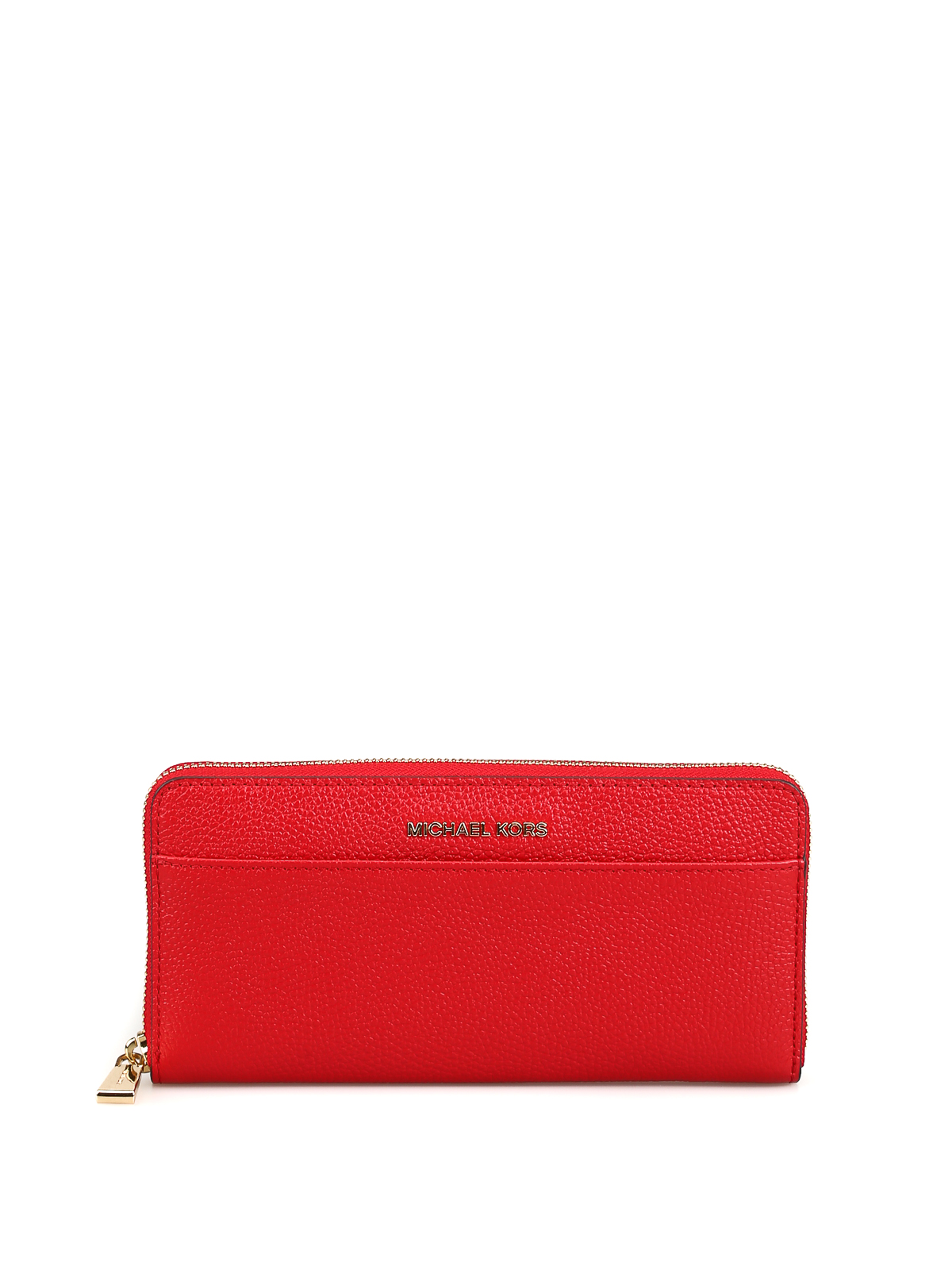 28cb776013c0 MICHAEL KORS: wallets & purses - Bright red zip around continental wallet
