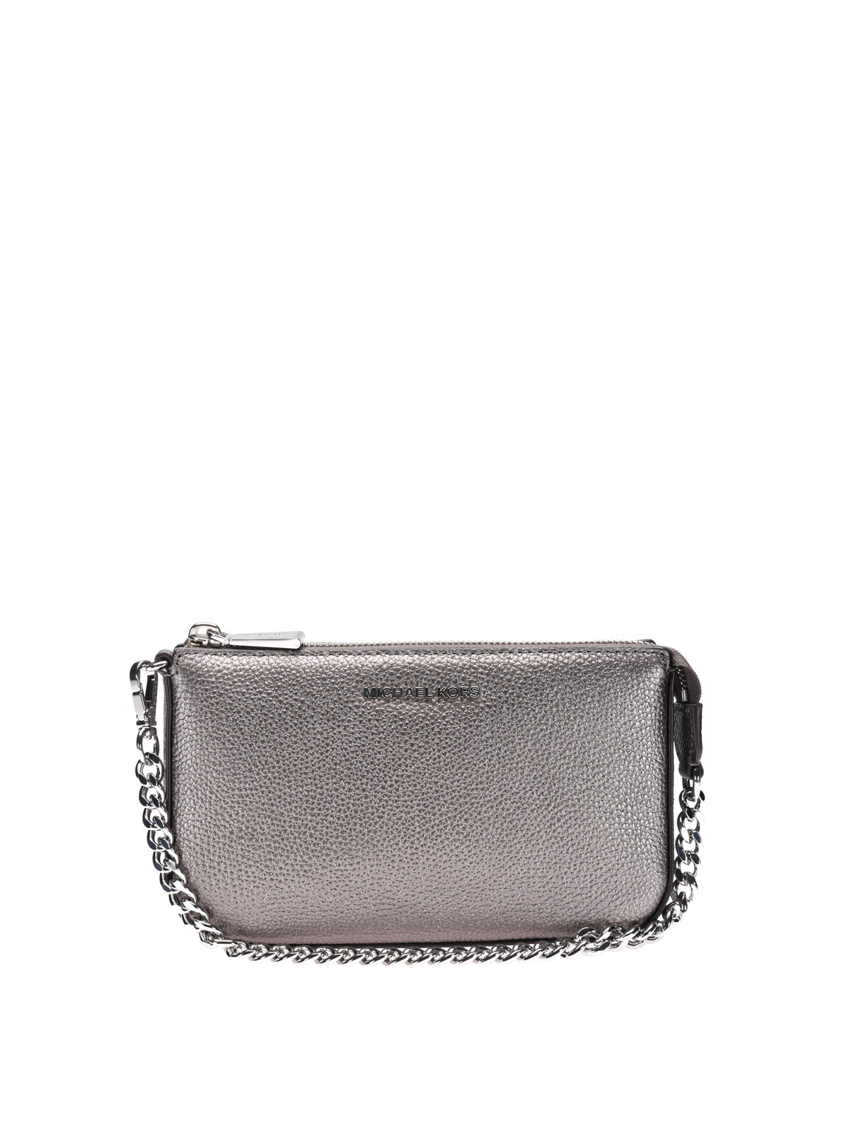 jet set gunmetal wristlet purse by michael kors wallets purses ikrix. Black Bedroom Furniture Sets. Home Design Ideas