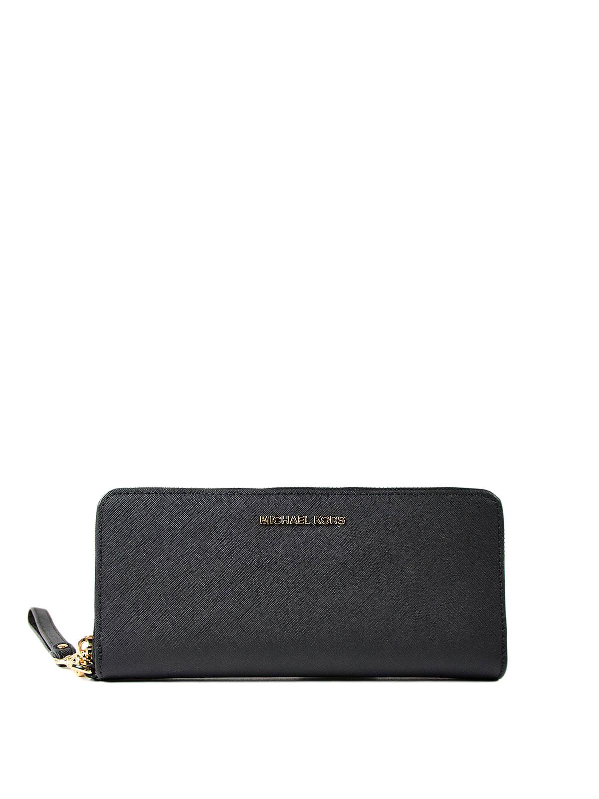 fef7d2833c94 Michael Kors - Jet Set Travel black wallet - wallets & purses ...