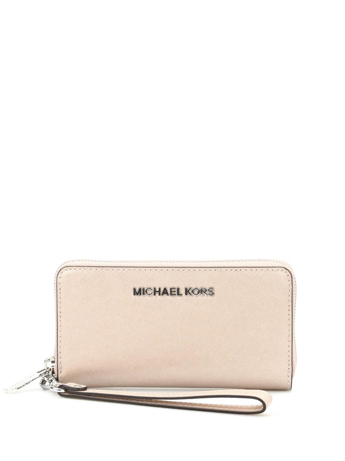 cd950dd36558 Michael Kors - Jet Set Travel saffiano wallet - wallets   purses ...