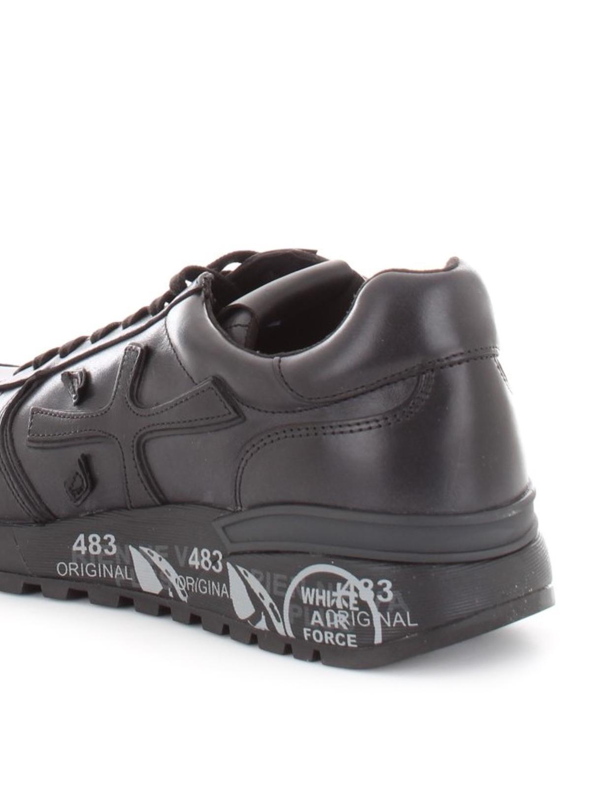 Premiata - Mick leather sneakers