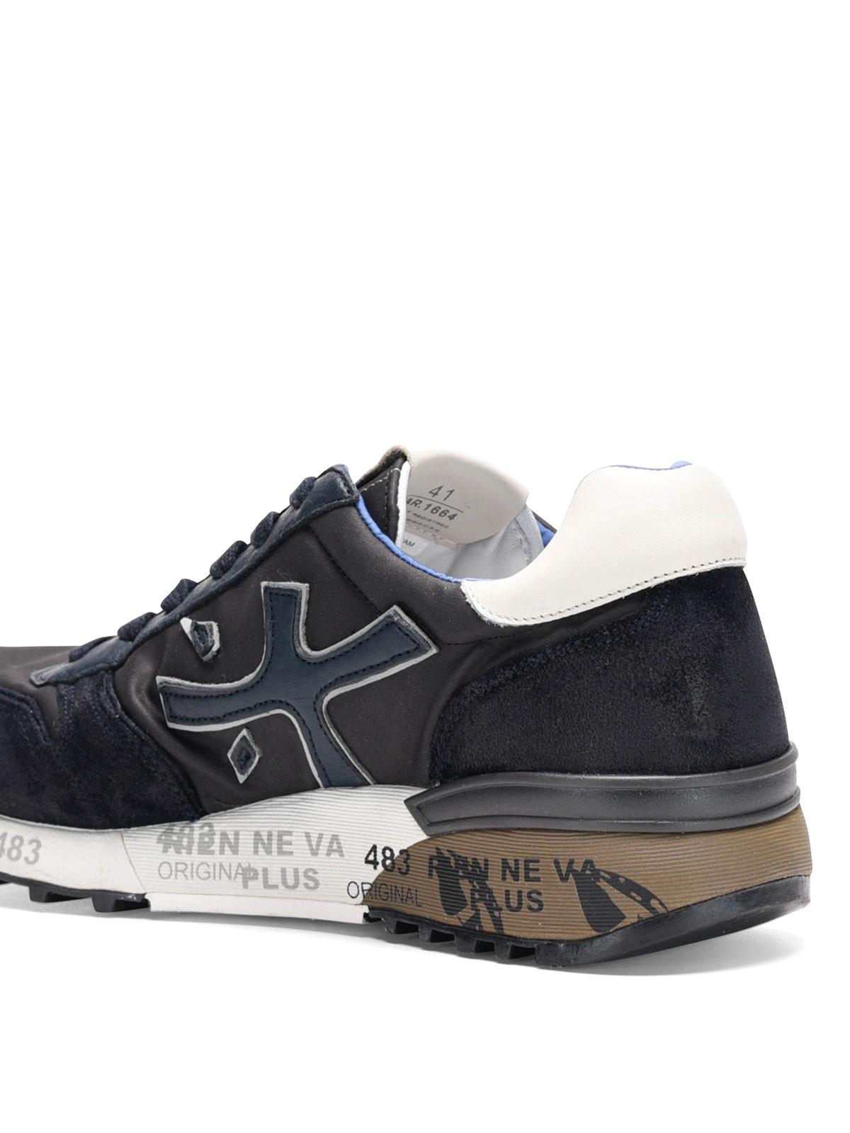E 1664 Premiata Sneakers In Mick Camoscio Sneaker Nylon gUBqOSIw