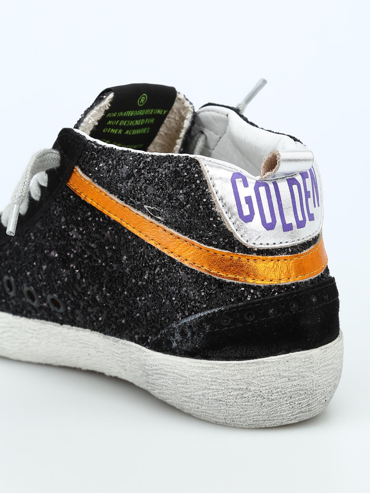 Golden Goose - Mid Star glittered