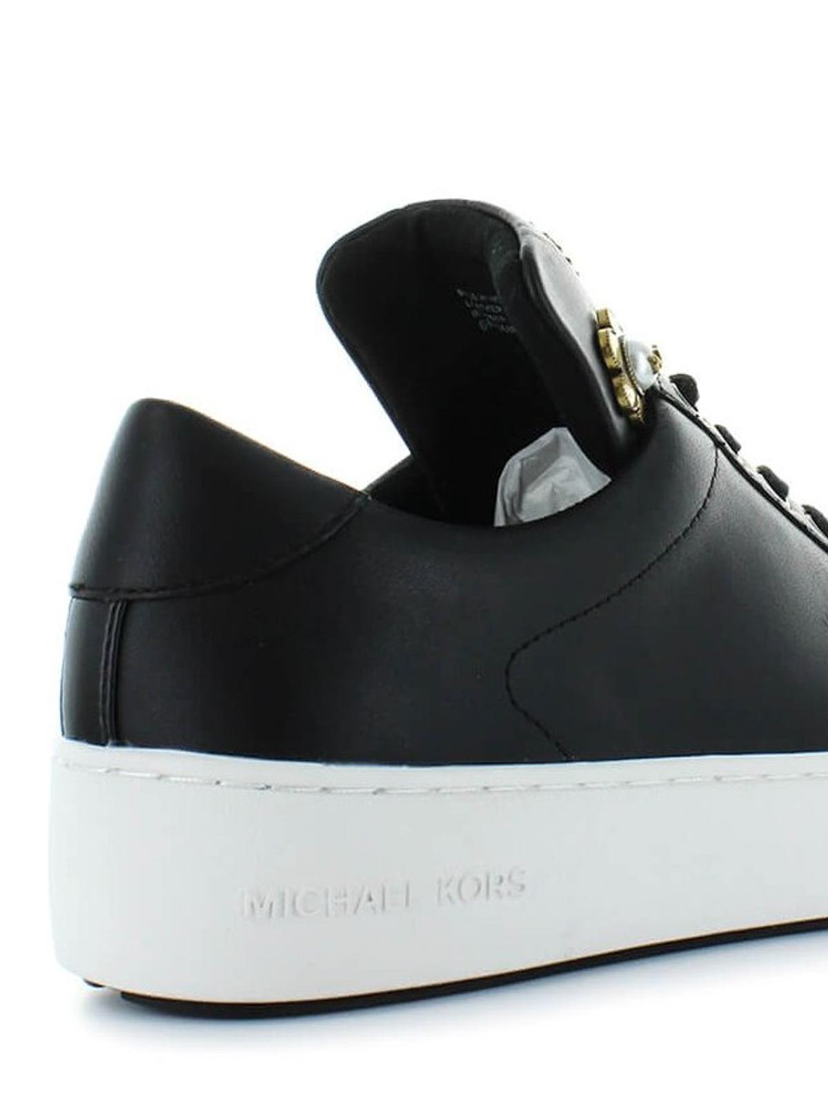 Mindy Linguetta Michael Decorata Kors Sneakers Maxi Sneaker Con OP0wZNknX8