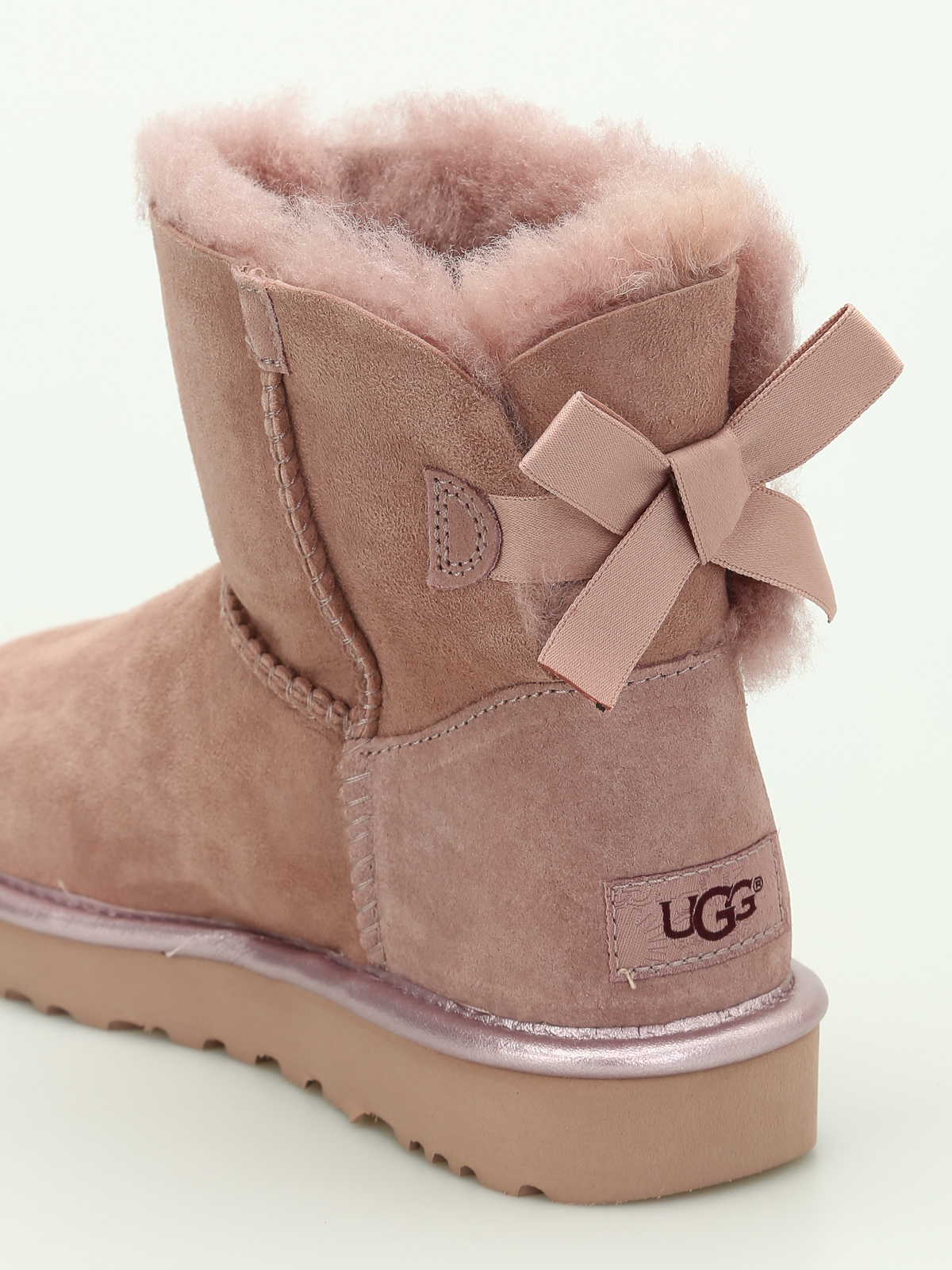 Ugg Mini Bailey Bow Ii Ankle Boots Ankle Boots