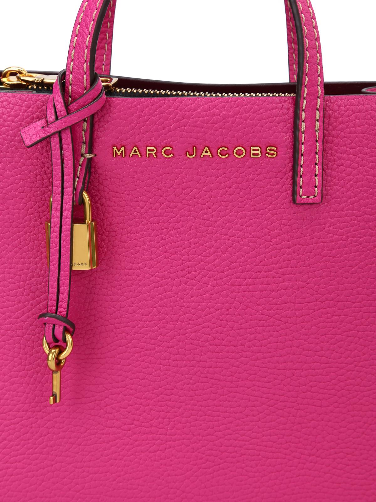 63a7dfc3defc Marc Jacobs - Mini Grind hydrangea leather bag - cross body bags ...
