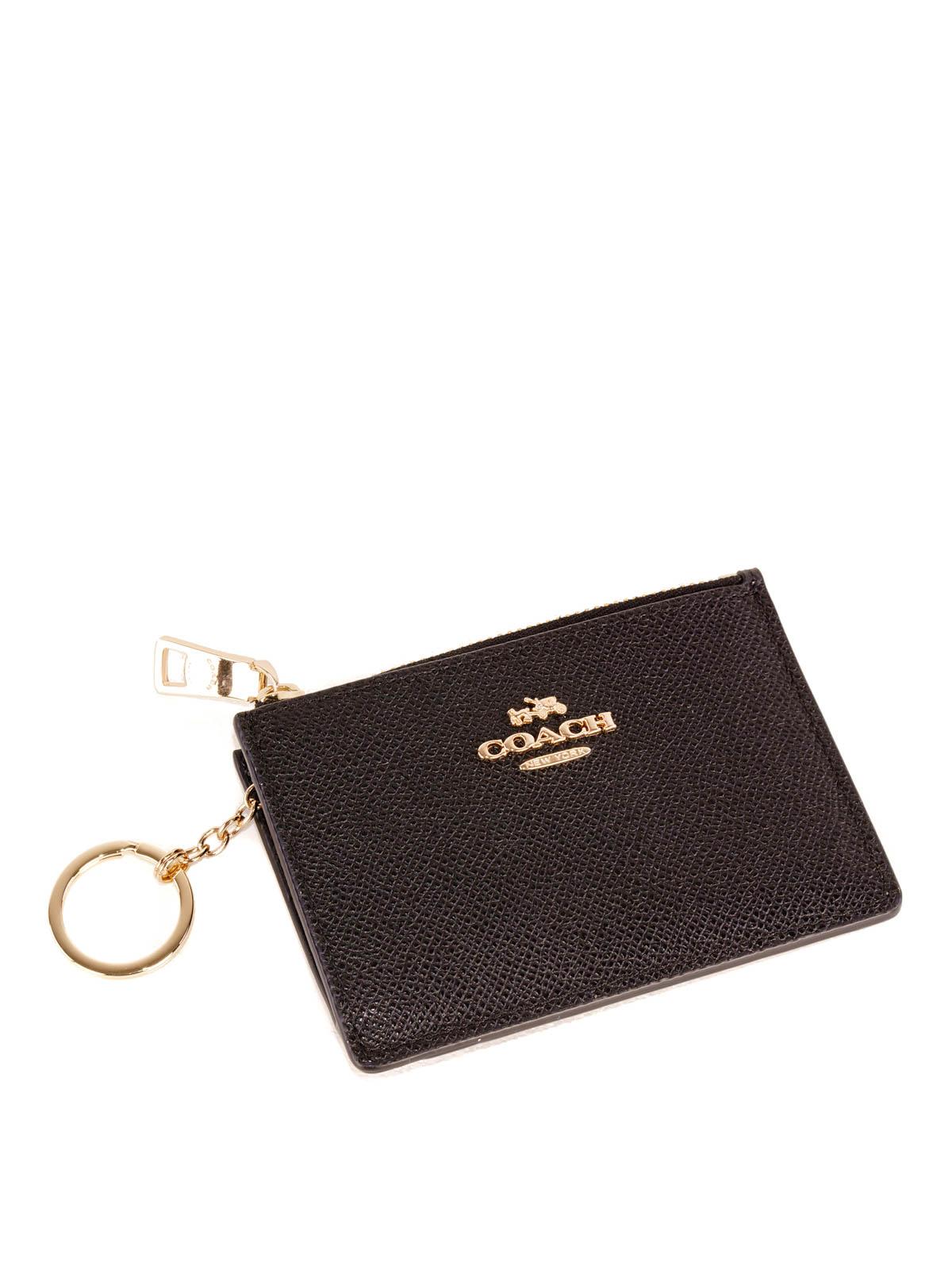 a54543a6c5 Coach - Mini Skinny leather card holder - wallets & purses - 52394 ...