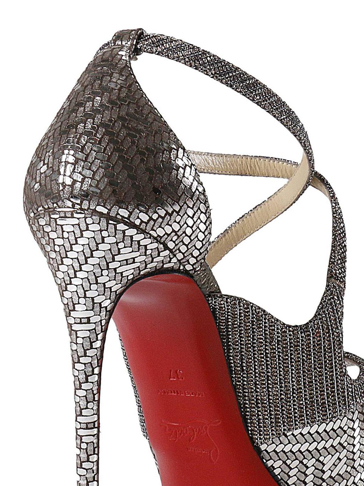 46fbb4518e97 Christian Louboutin - Mira Bella platform sandals - sandals ...