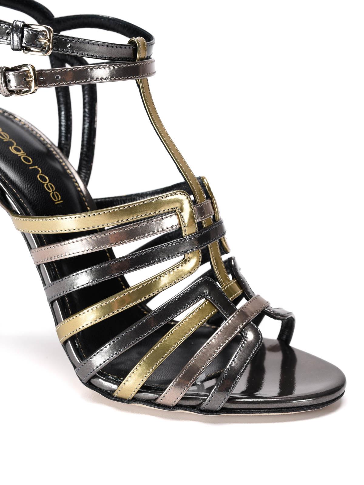 Sandales A74160 Noir Rossi Sergio gcIK71DN
