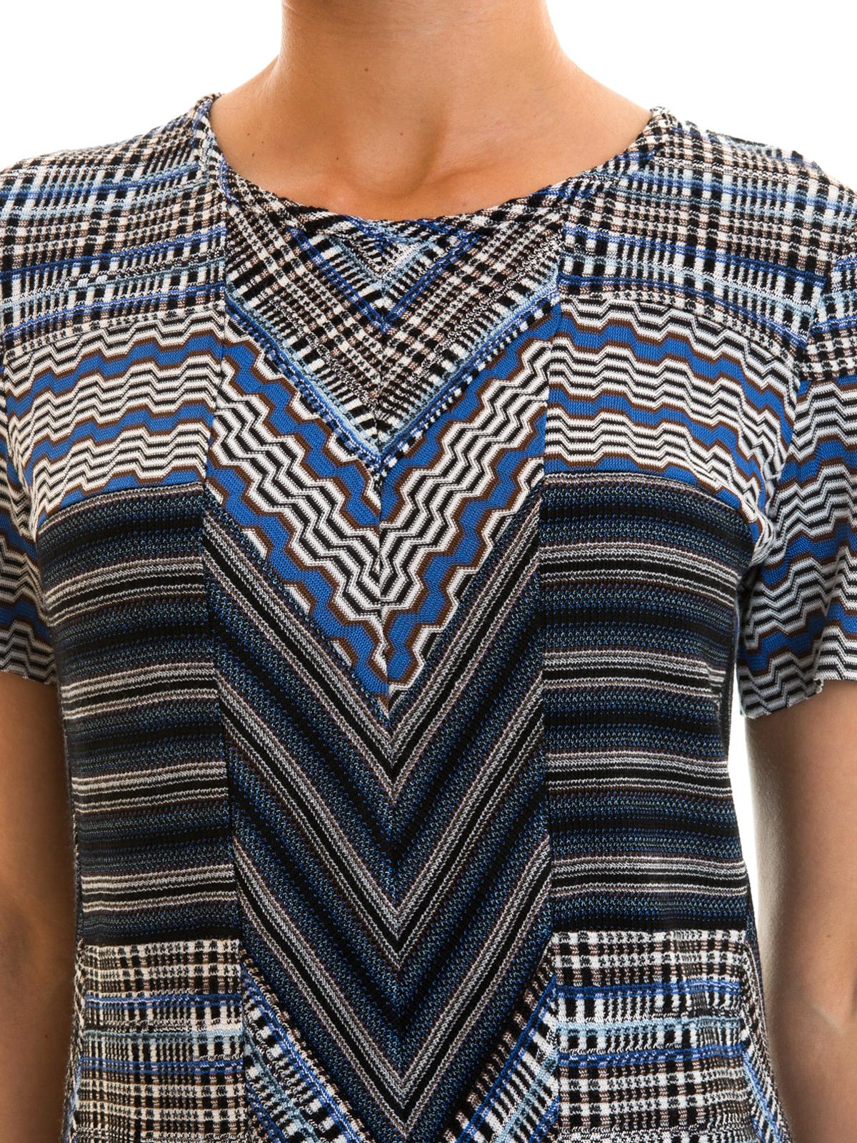 MISSONI buy online Knielanges Kleid - Blau. MISSONI  Knielange Kleider ... 2bfd0482fd