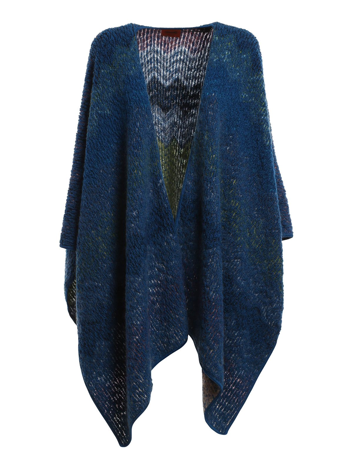 Missoni Wool And Mohair Reversible Cape Capes