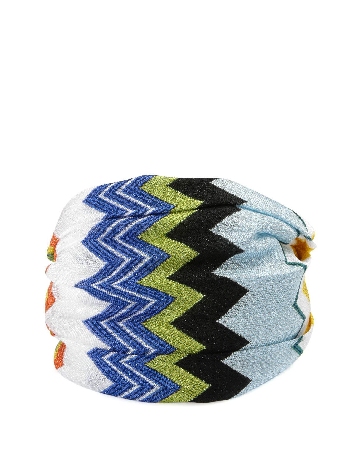 Missoni - Fascia per la testa fantasia - accessori per capelli ... db69415b754d