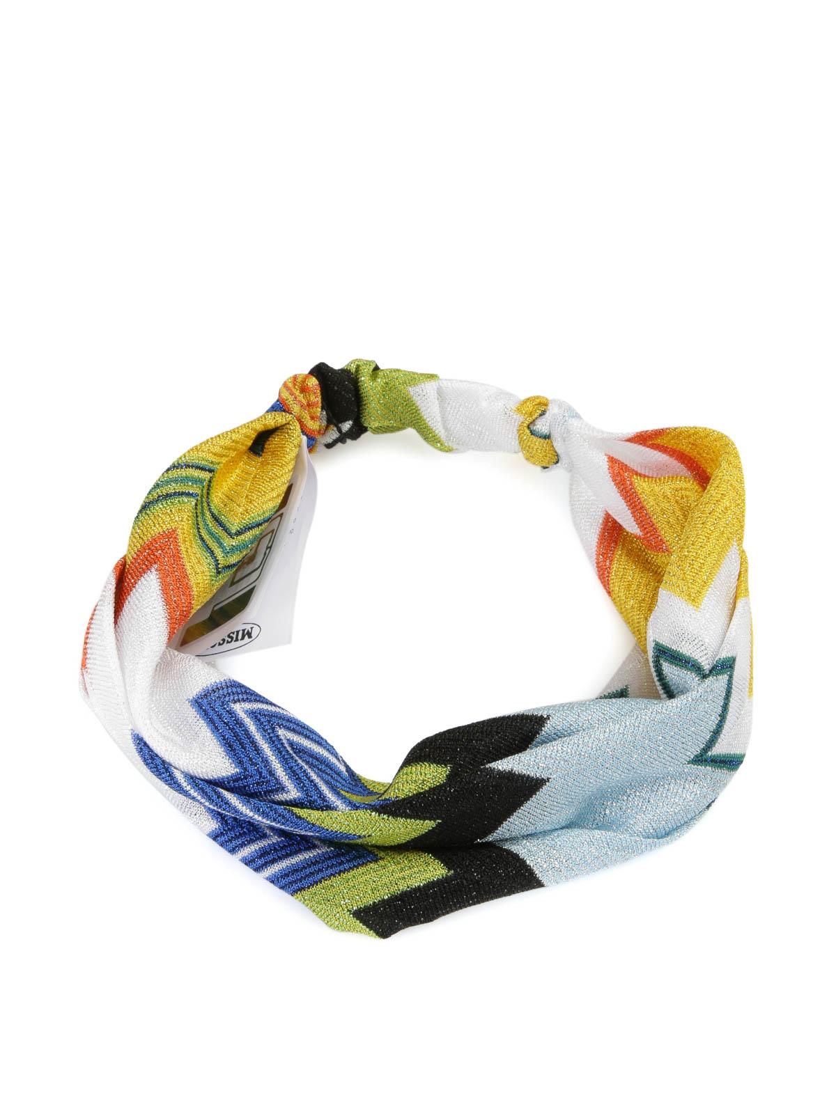MISSONI  accessori per capelli online - Fascia per la testa fantasia 8ba738e26096