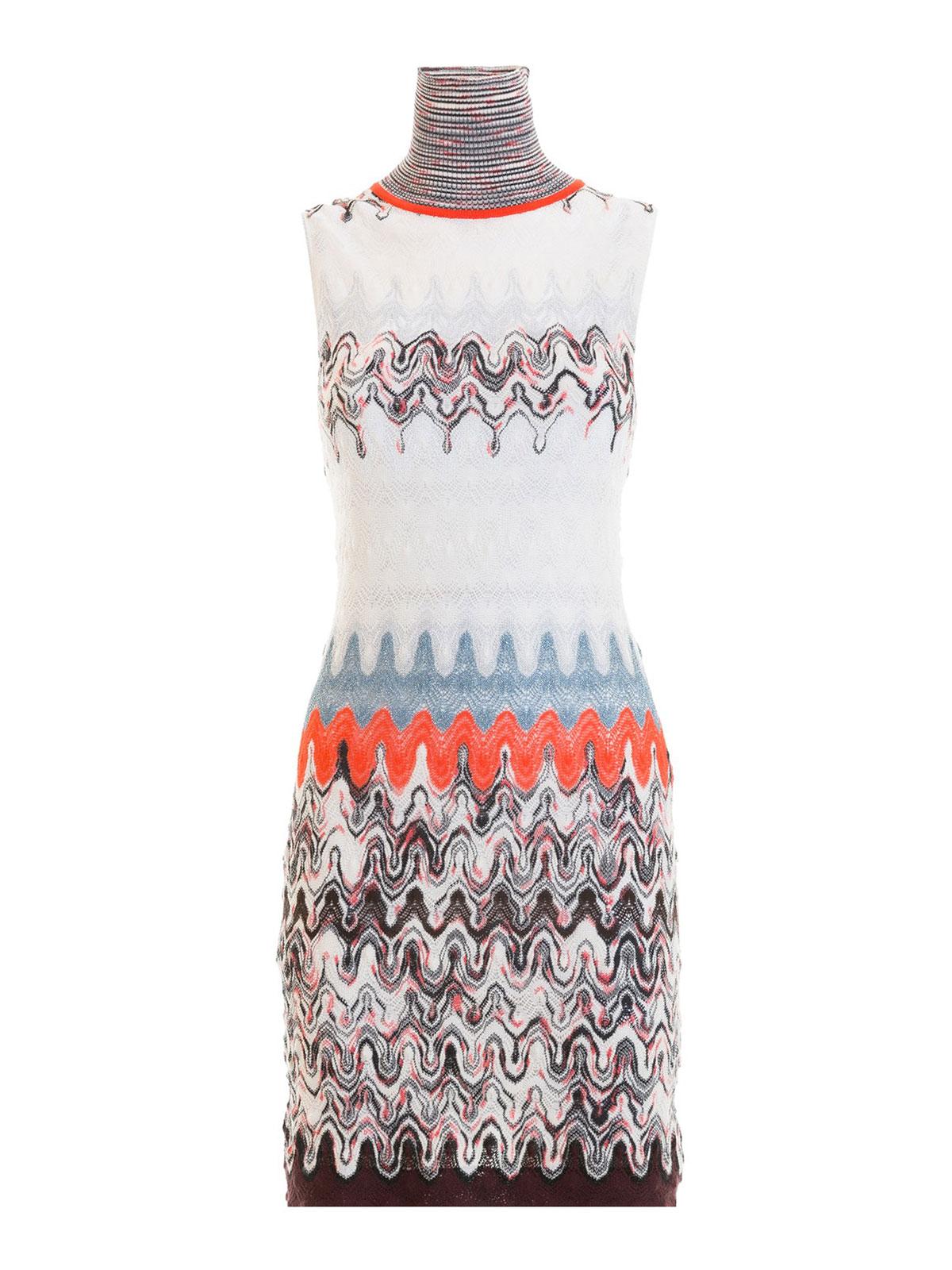 b06897f7820f7 Missoni - Vestido Corto - Multicolor - Vestidos cortos ...