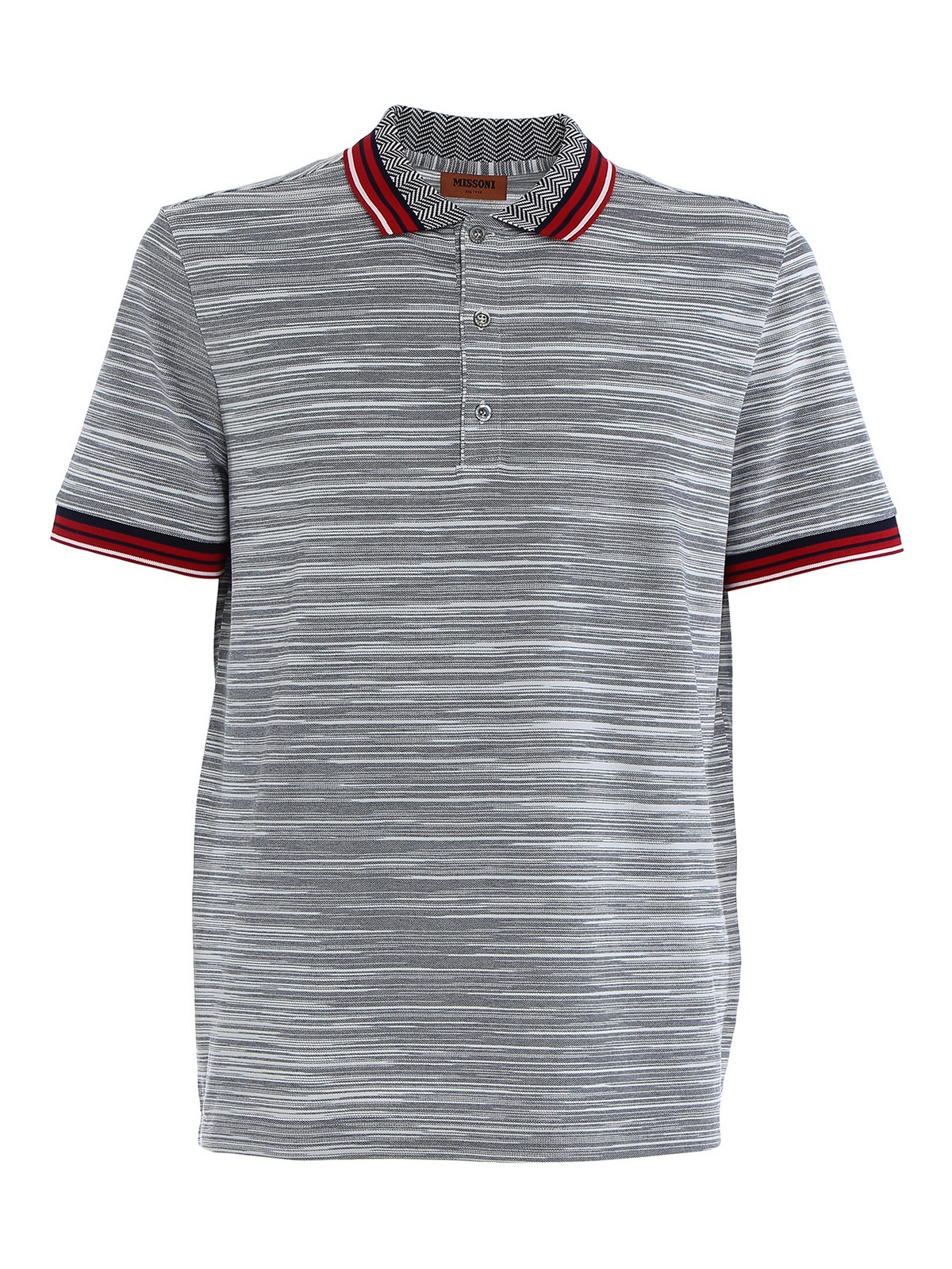 Missoni Cottons KNITTED COTTON POLO SHIRT
