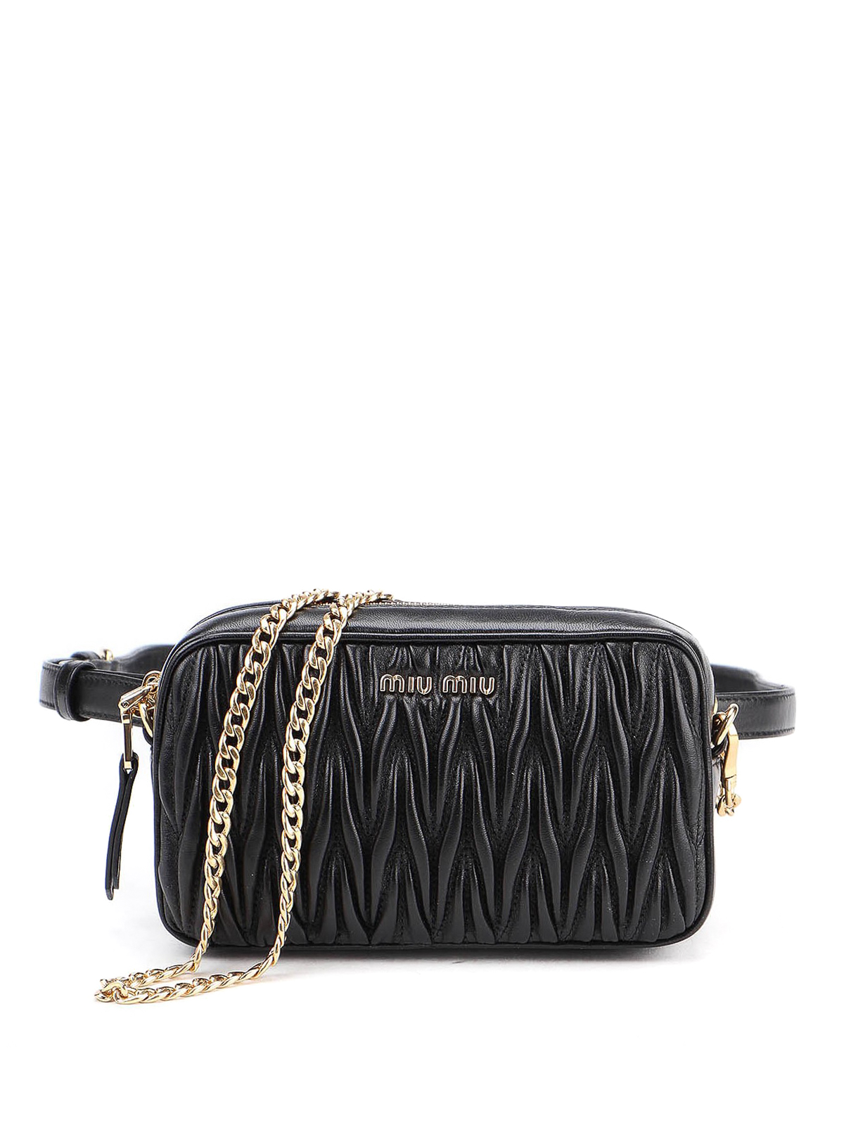 Miu Miu MATELASSE BELT BAG